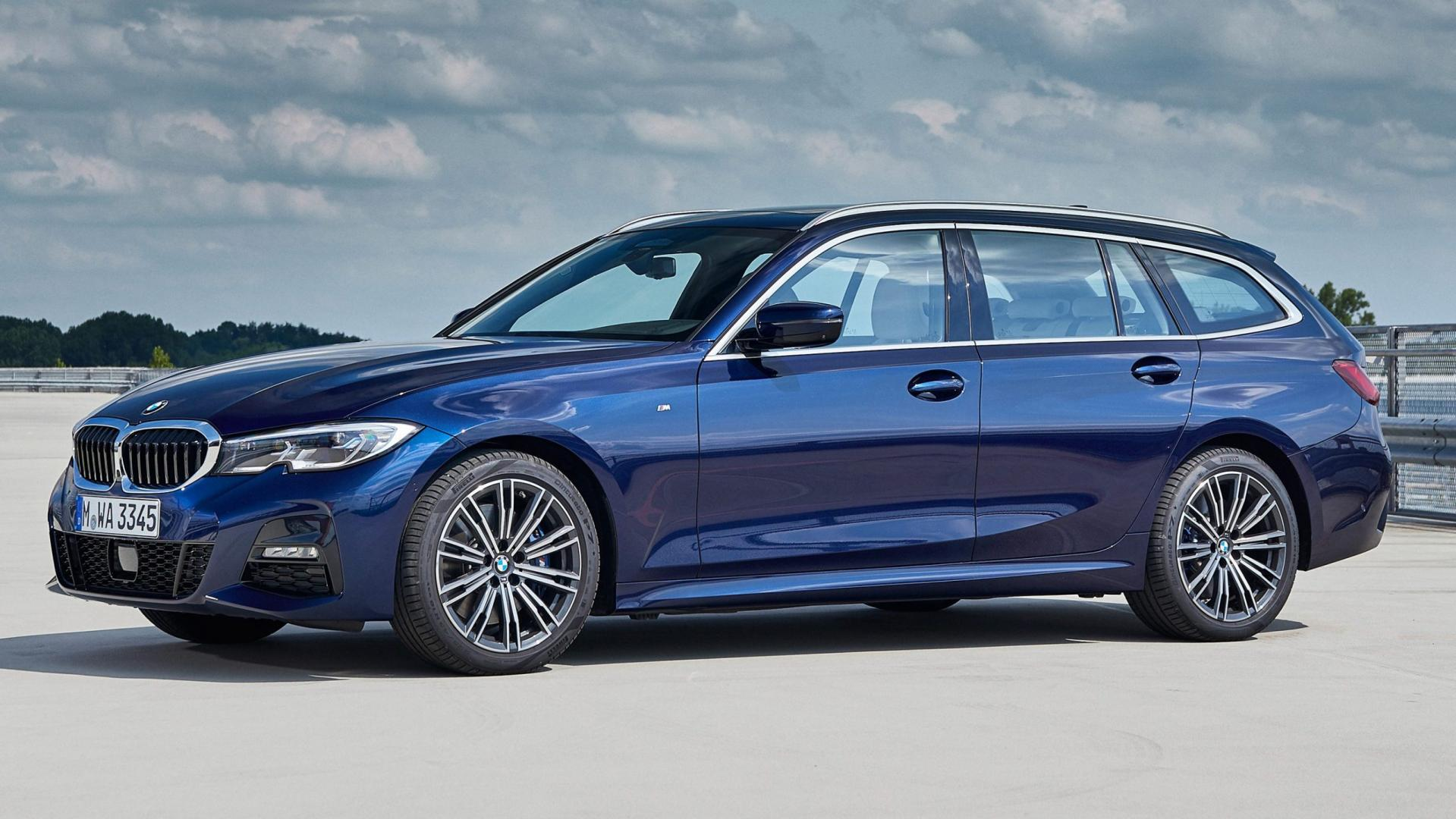 BMW 330d xDrive Touring zij links