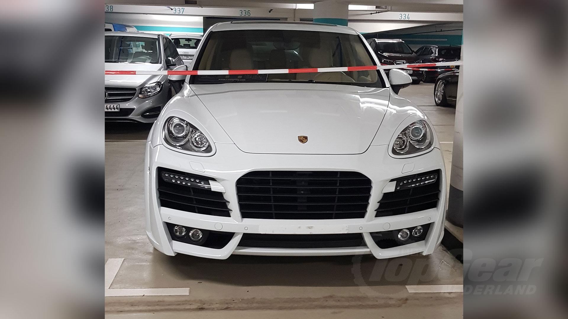 Porsche Cayenne in Trier