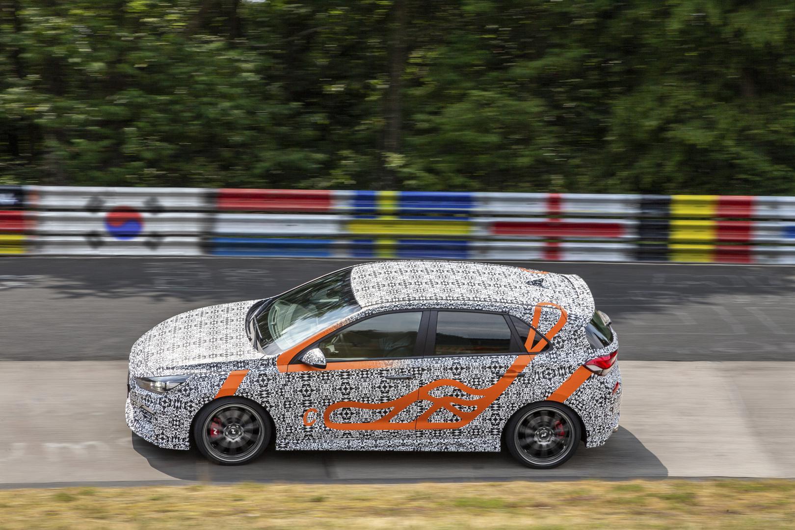 Hyundai i30 N Project C Karussell Schwalbenschwanz