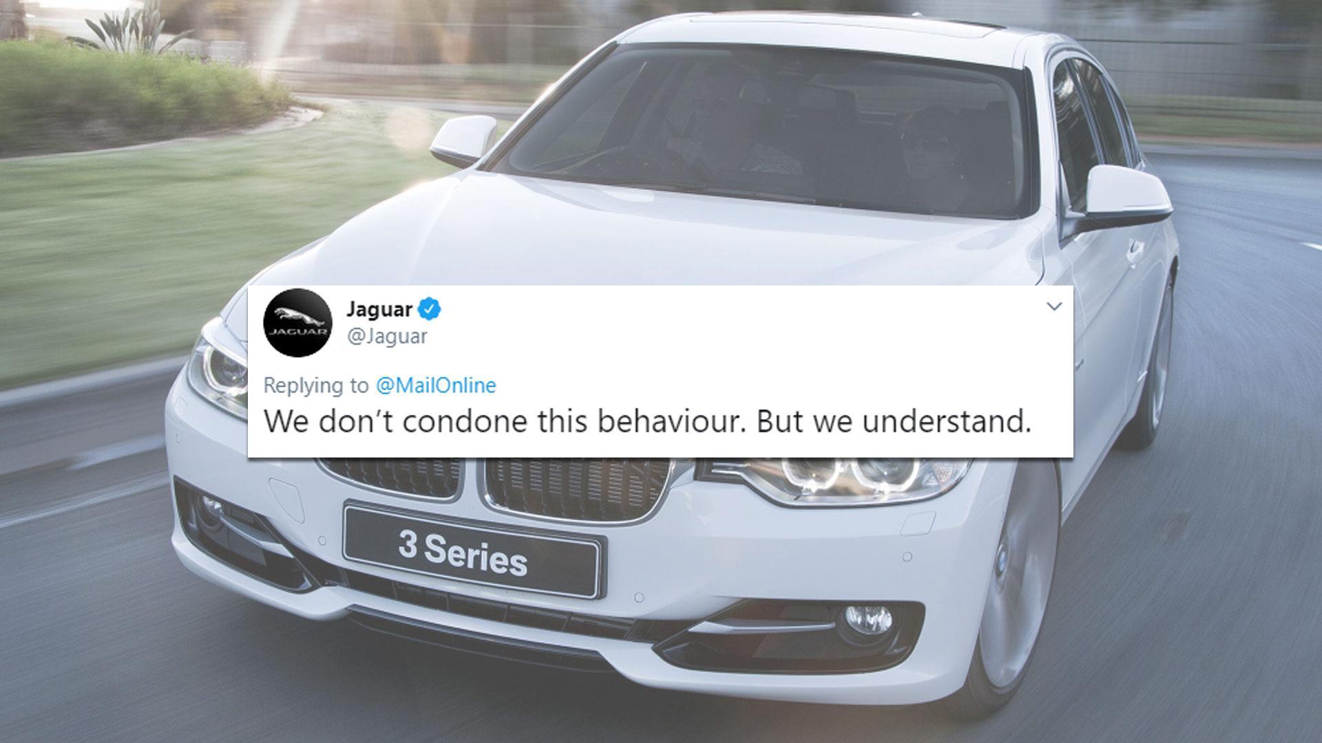aguar deelt sneertje uit aan BMW