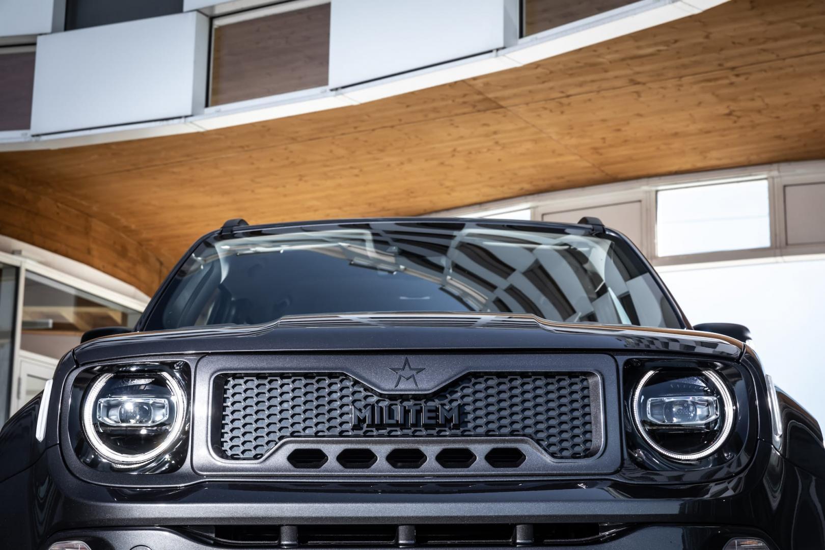 Militem Jeep Renegade grille koplampen