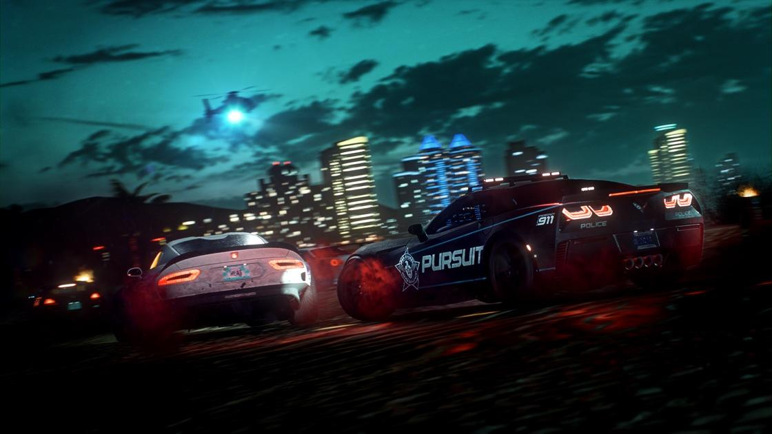Alle auto's in Need for Speed Heat Viper Corvette Politie