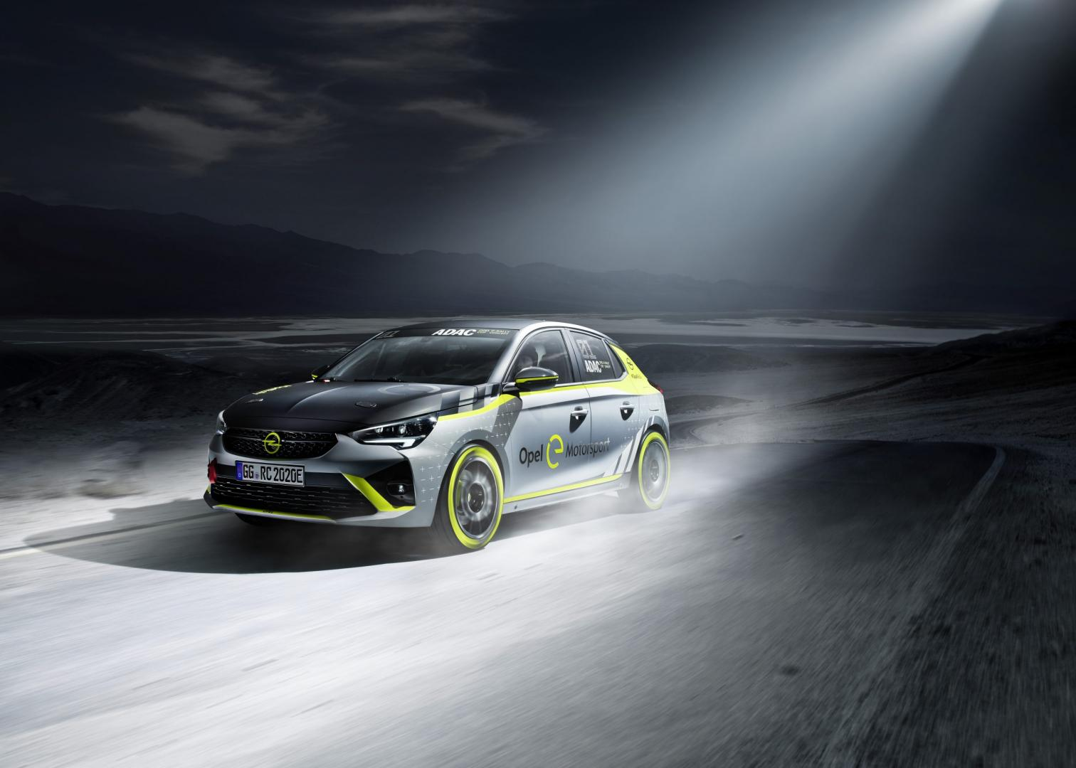 Opel Corsa-e Rally - elektrische rallyauto