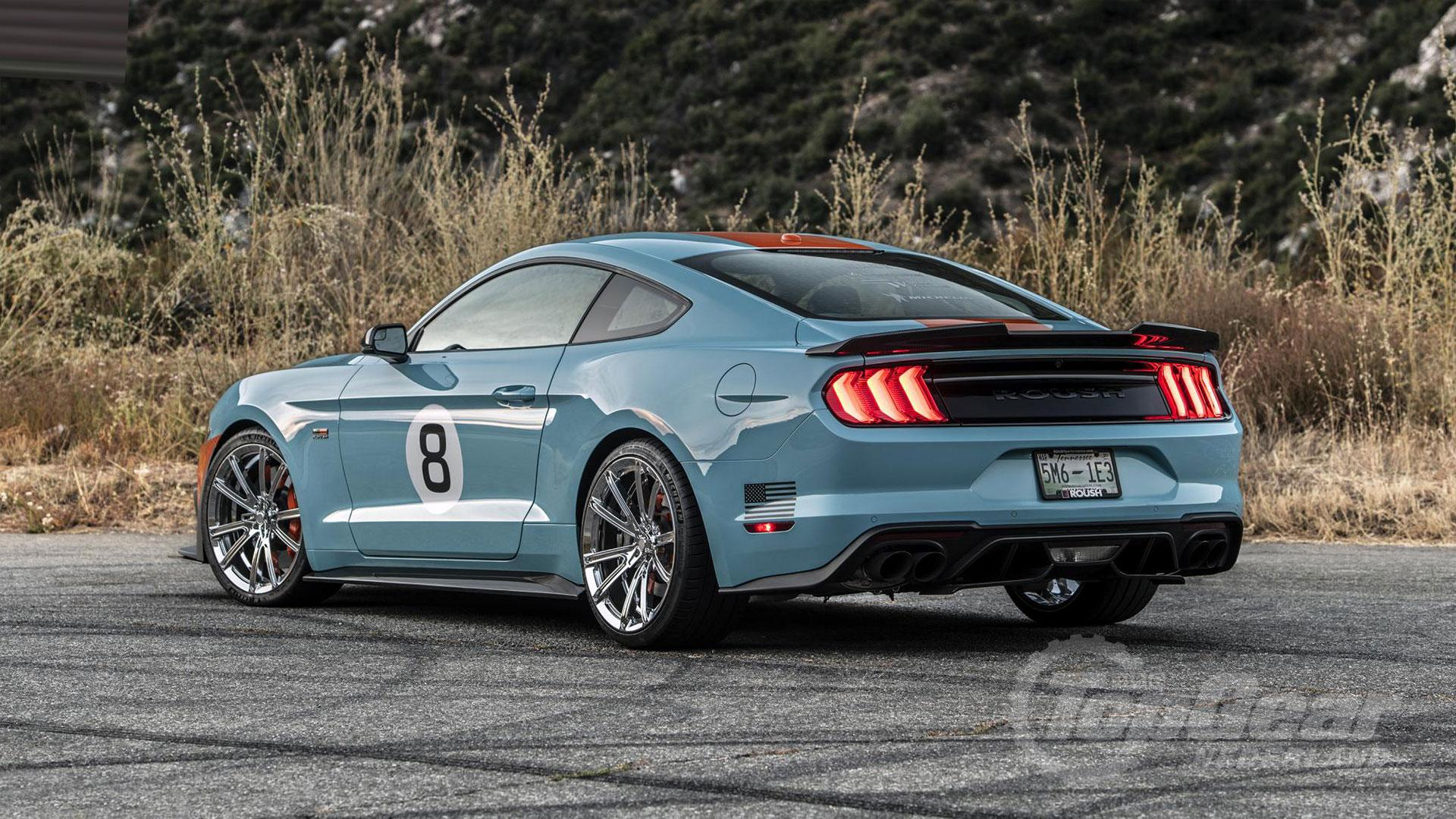 Roush Ford Mustang Gulf