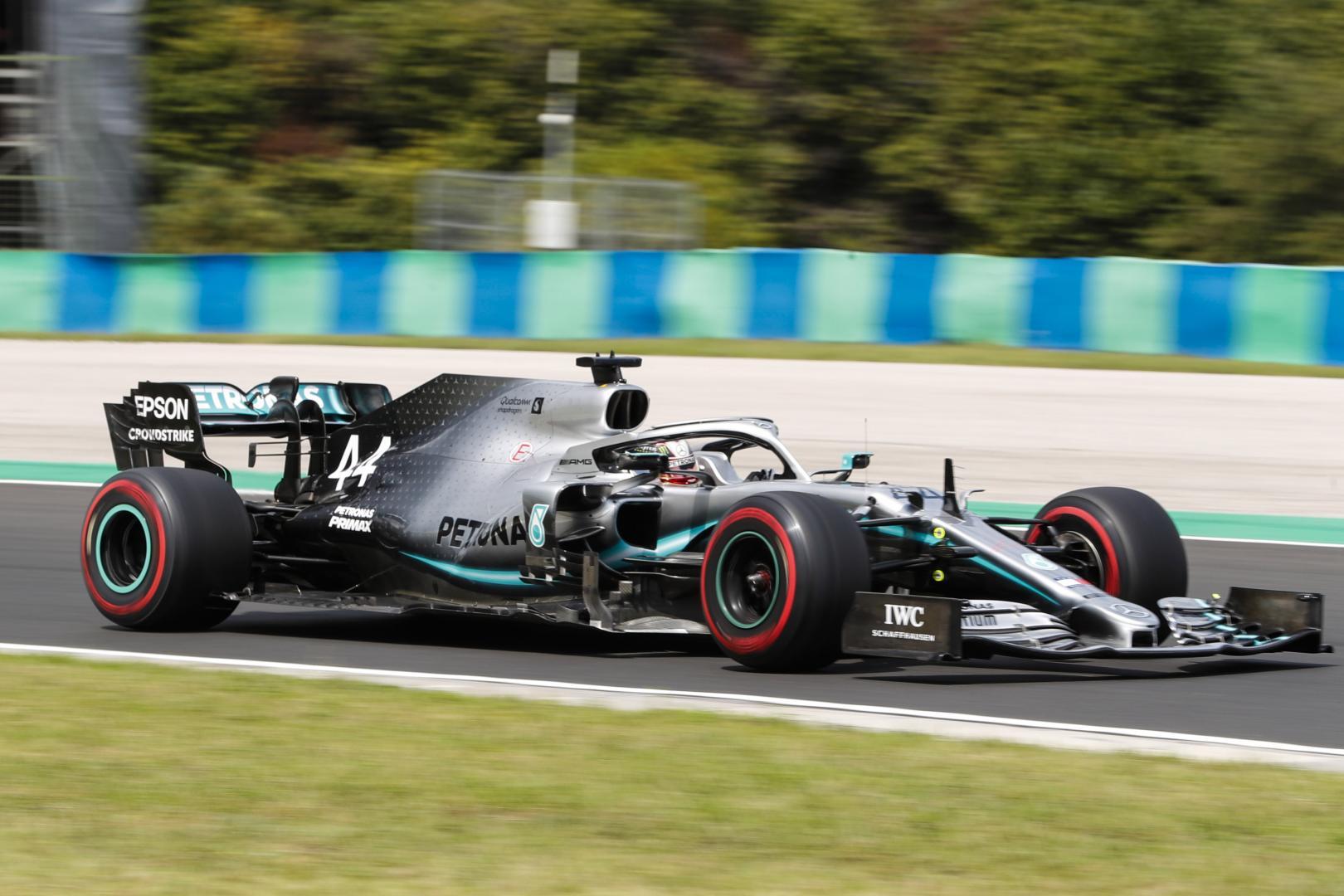 Uitslag van de GP van Hongarije 2019
