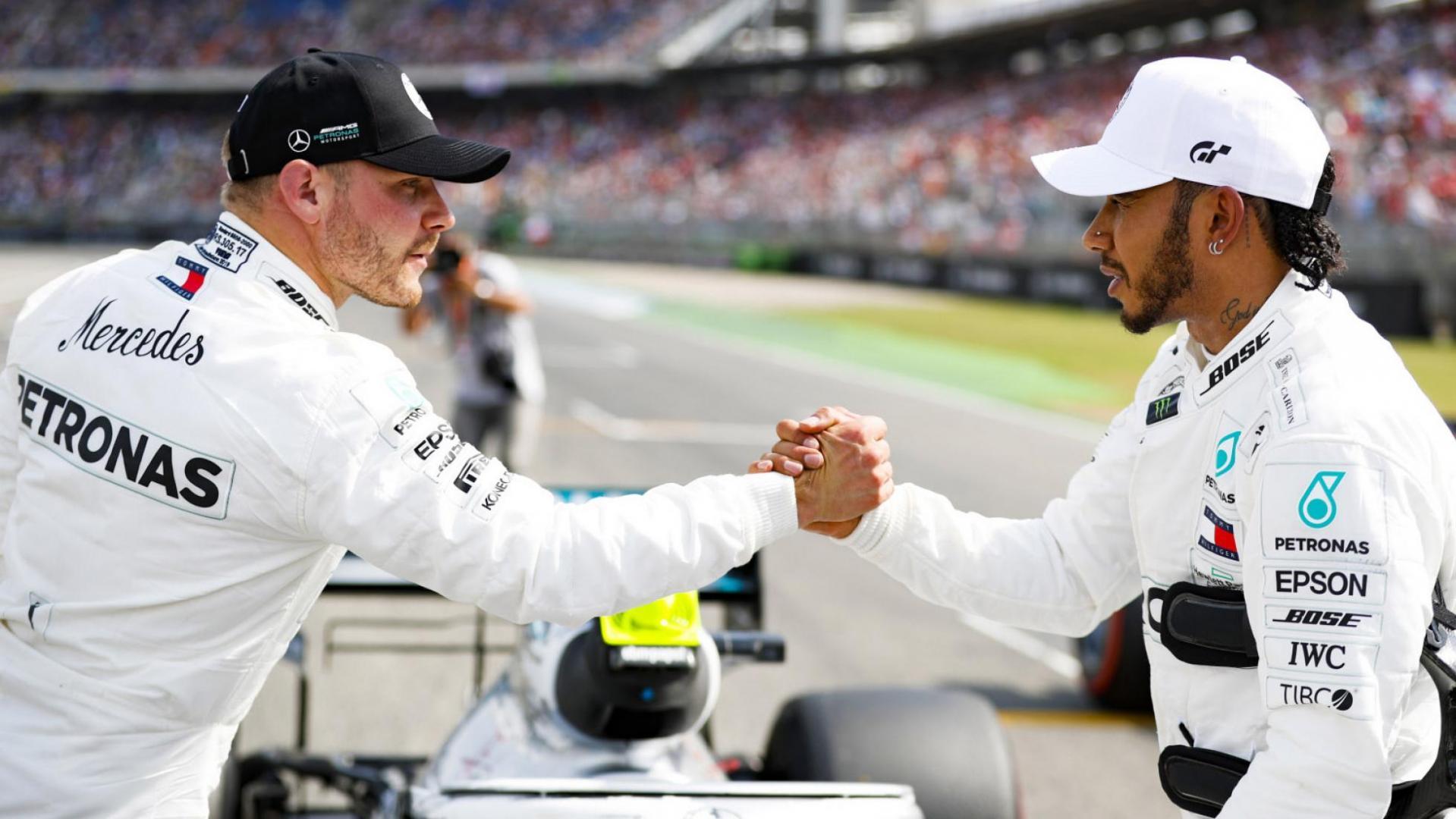Valtteri Bottas blijft bij Mercedes in 2020