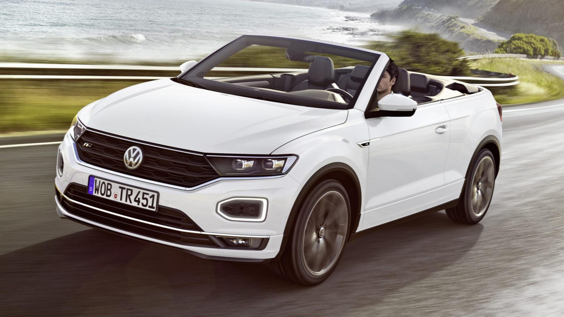 Volkswagen T-Roc Cabriolet 2019 R-Line