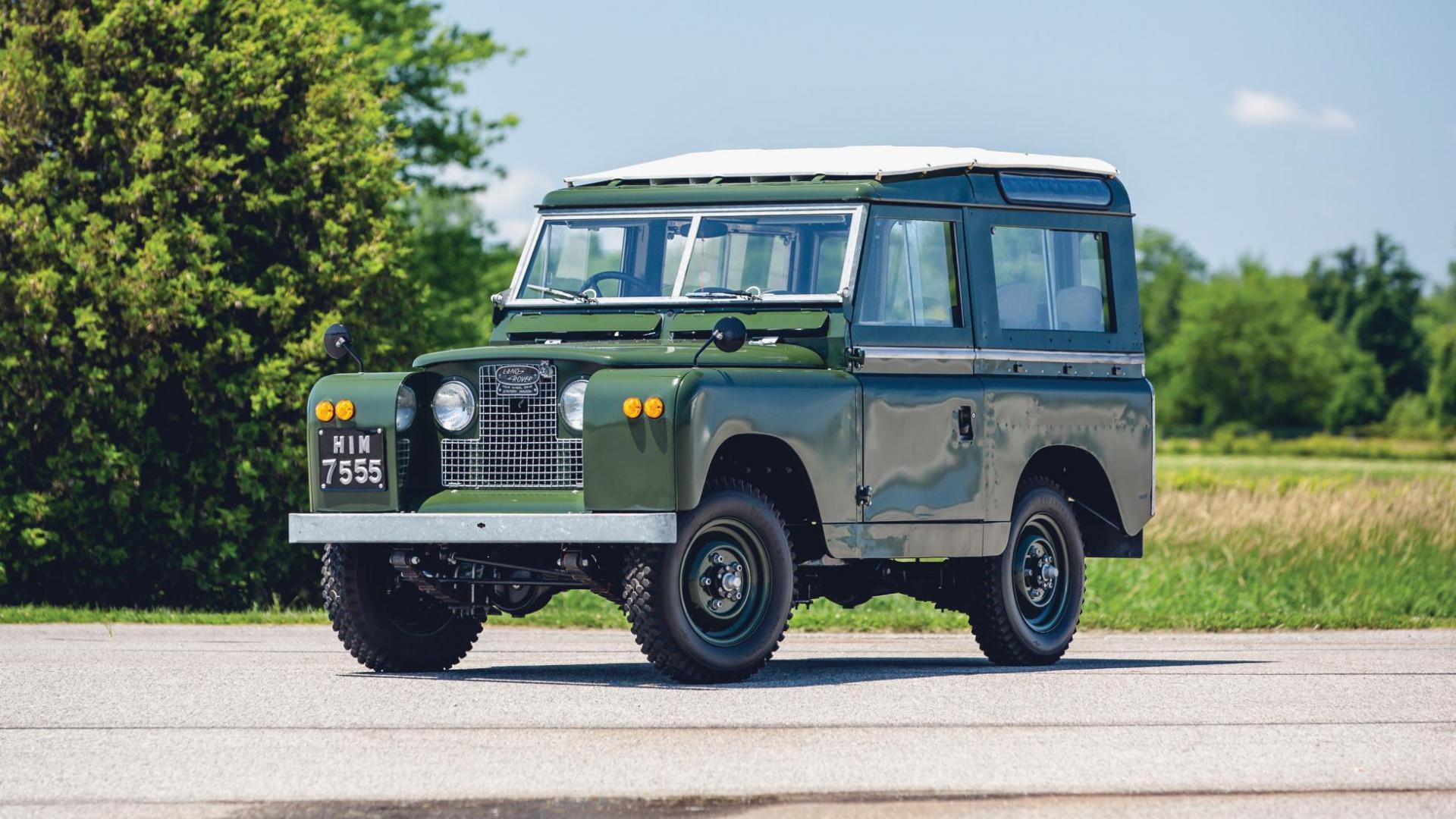 Heilige Land Rover