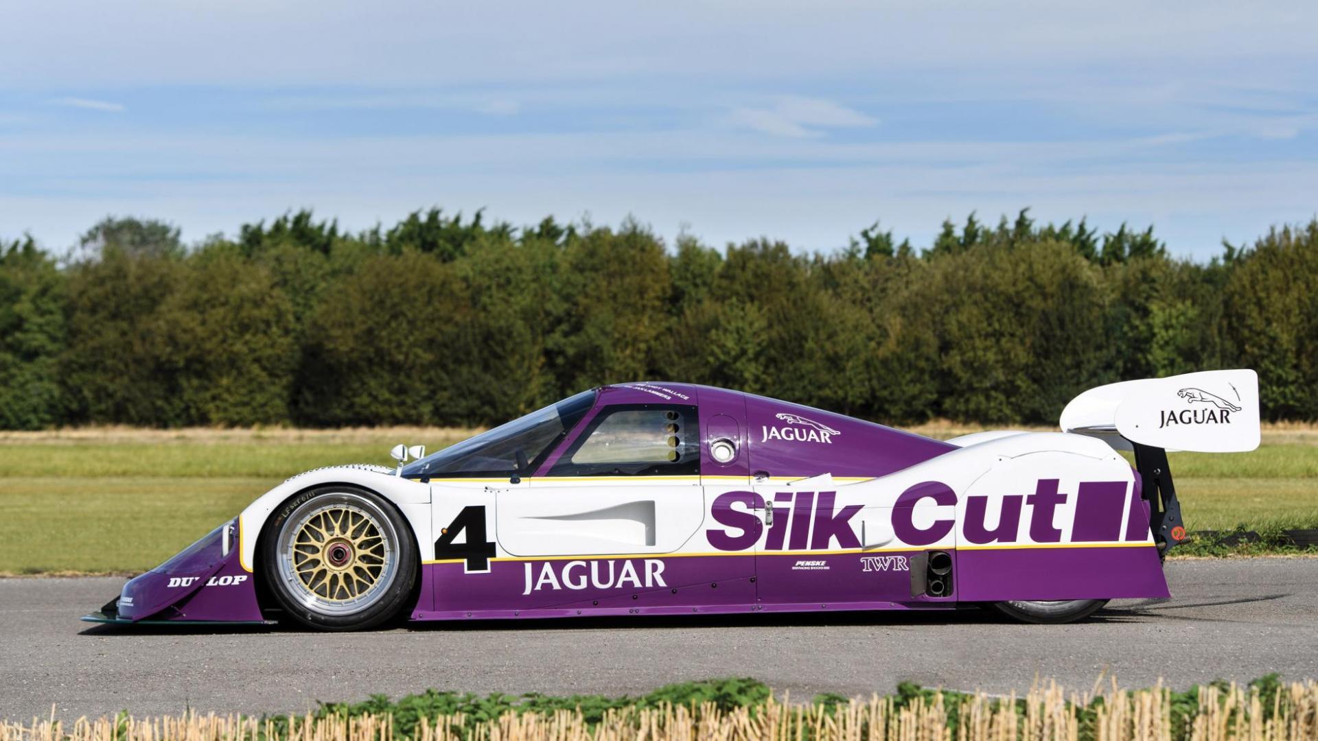 Jaguar XJR-11 zij wielkast