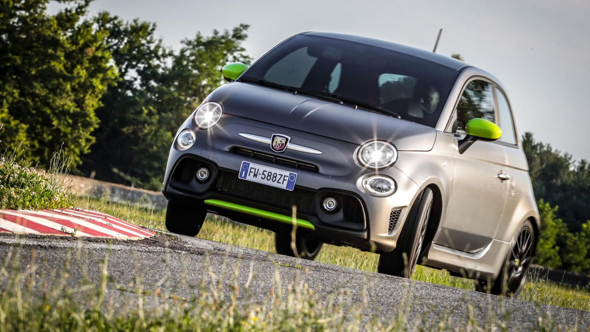 Abarth 595 Pista drift
