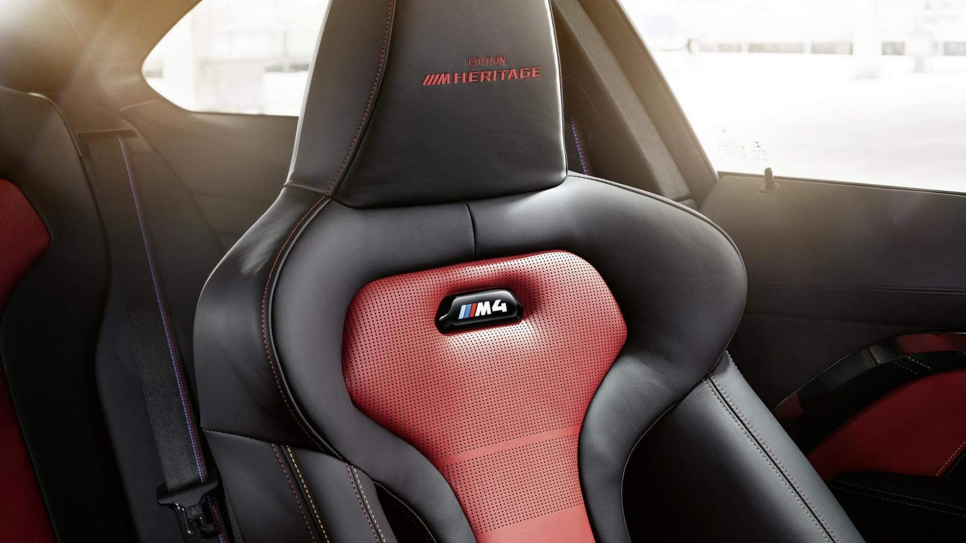 BMW M4 Heritage stoel