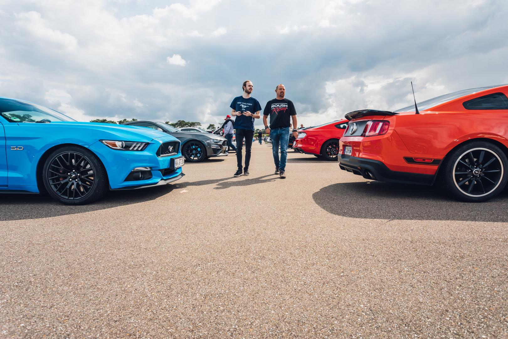 Ford Mustang wereldrecord