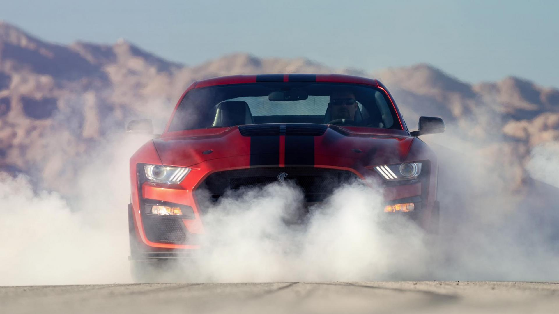 Ford Mustang Shelby GT500 rook
