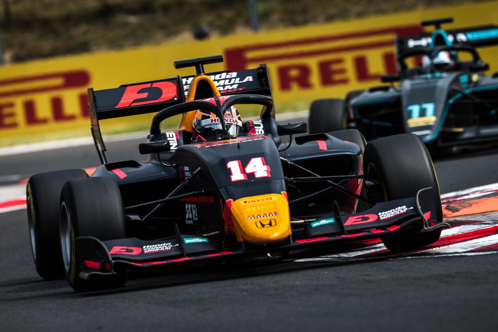 Formule 3 Yuki Tsunoda
