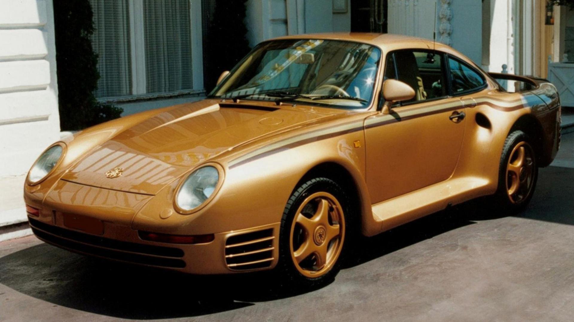 Gouden Porsche 959