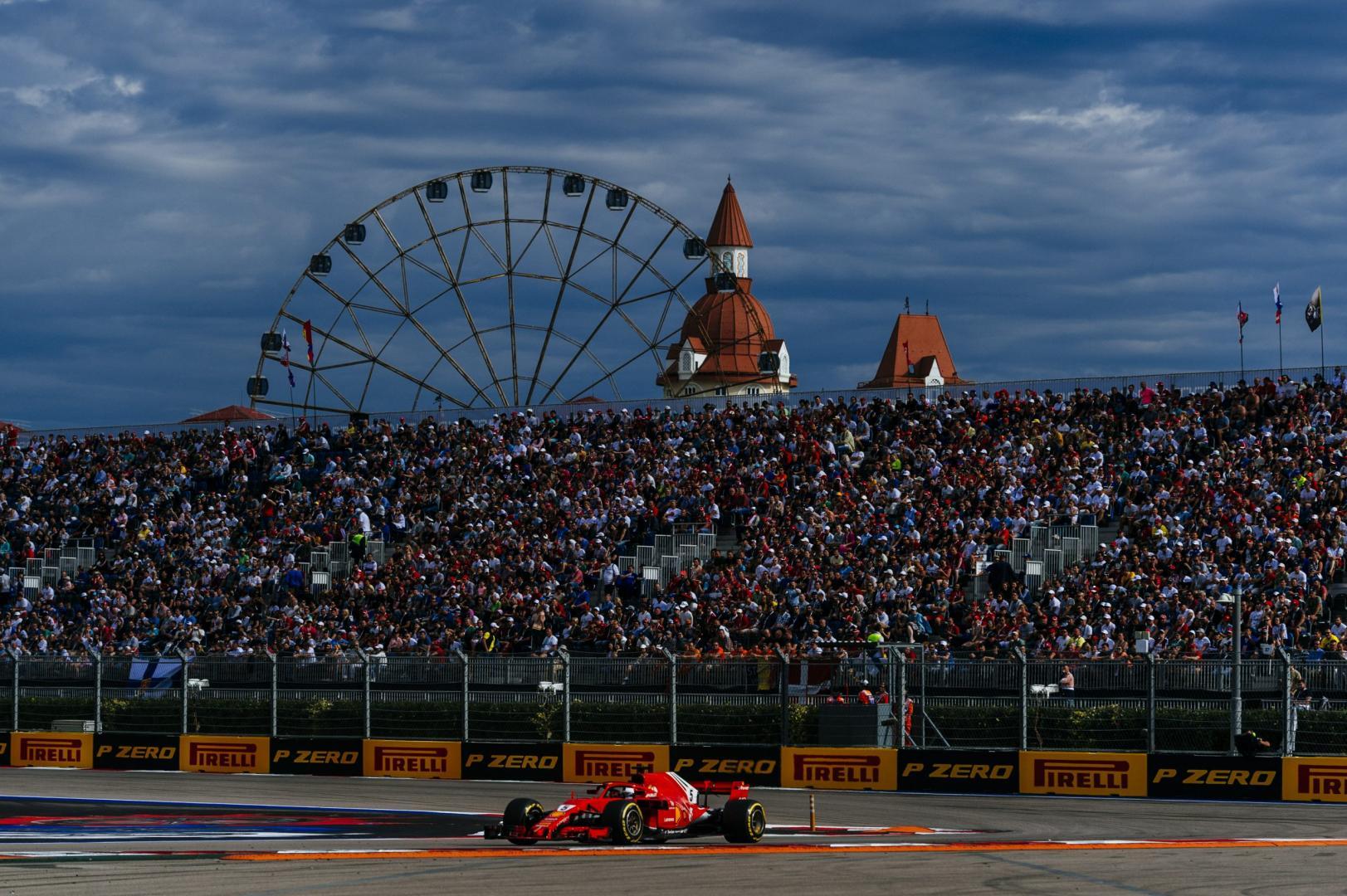 Grand Prix van Rusland Ferrari