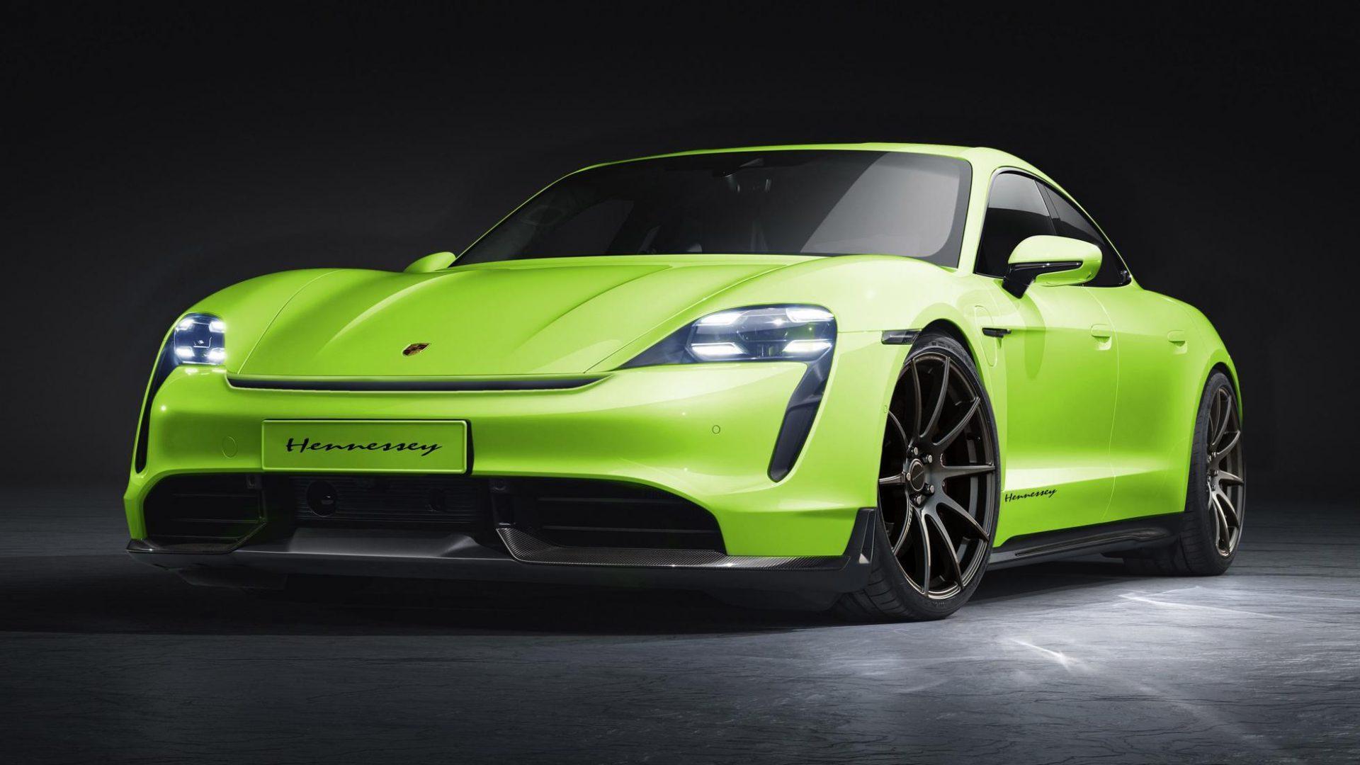 Hennessey Porsche Taycan voor