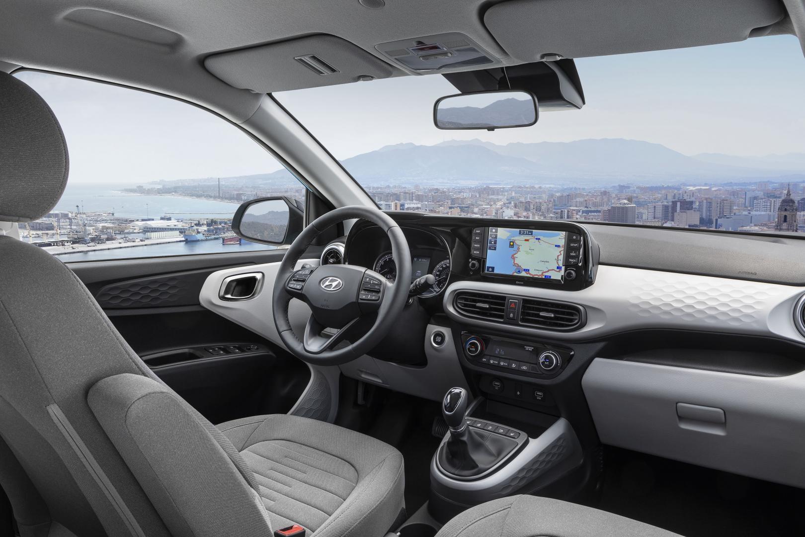 Hyundai i10 2019 interieur