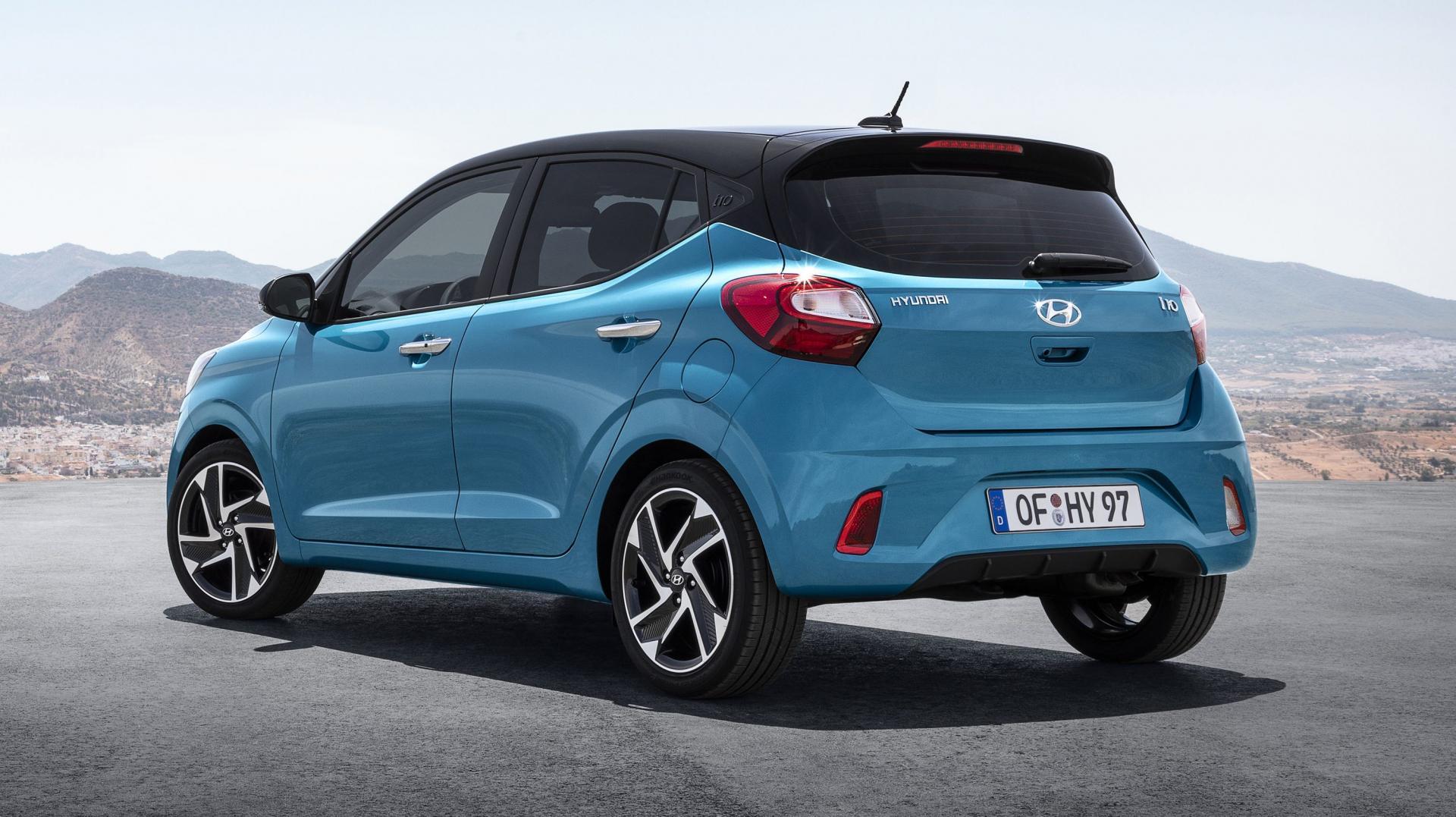 Hyundai i10 2019 achter 2