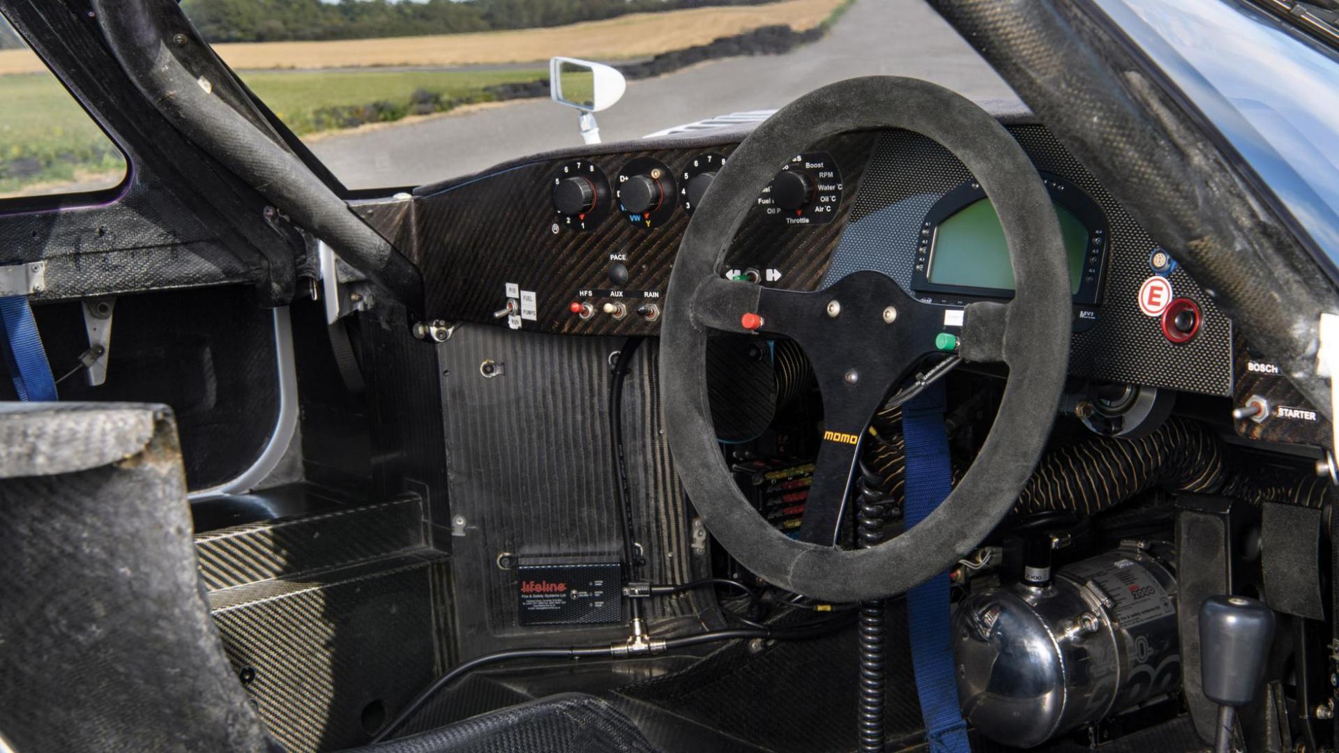 Jaguar XJR-11 interieur stuur