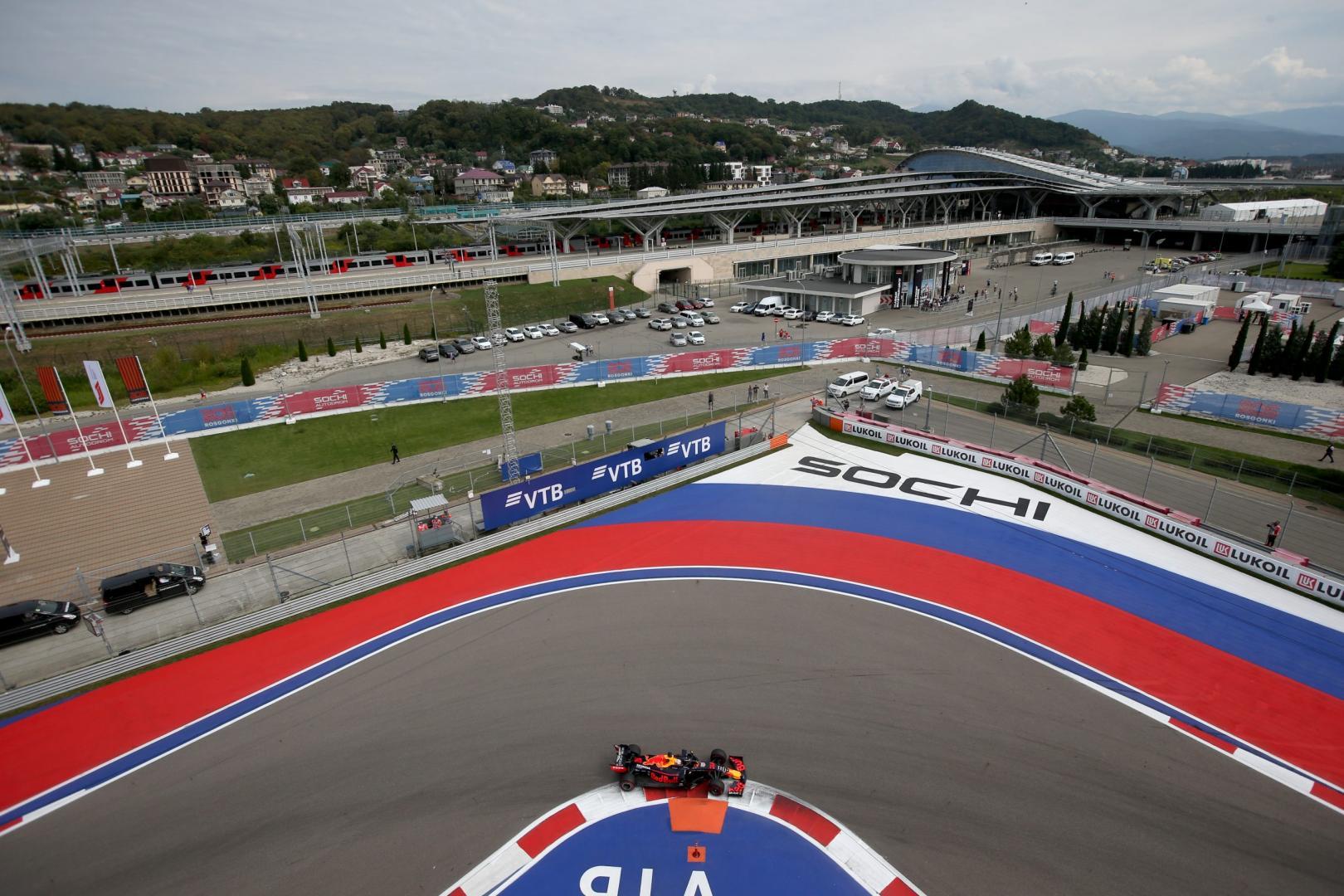 Max Verstappen Sochi GP van Rusland