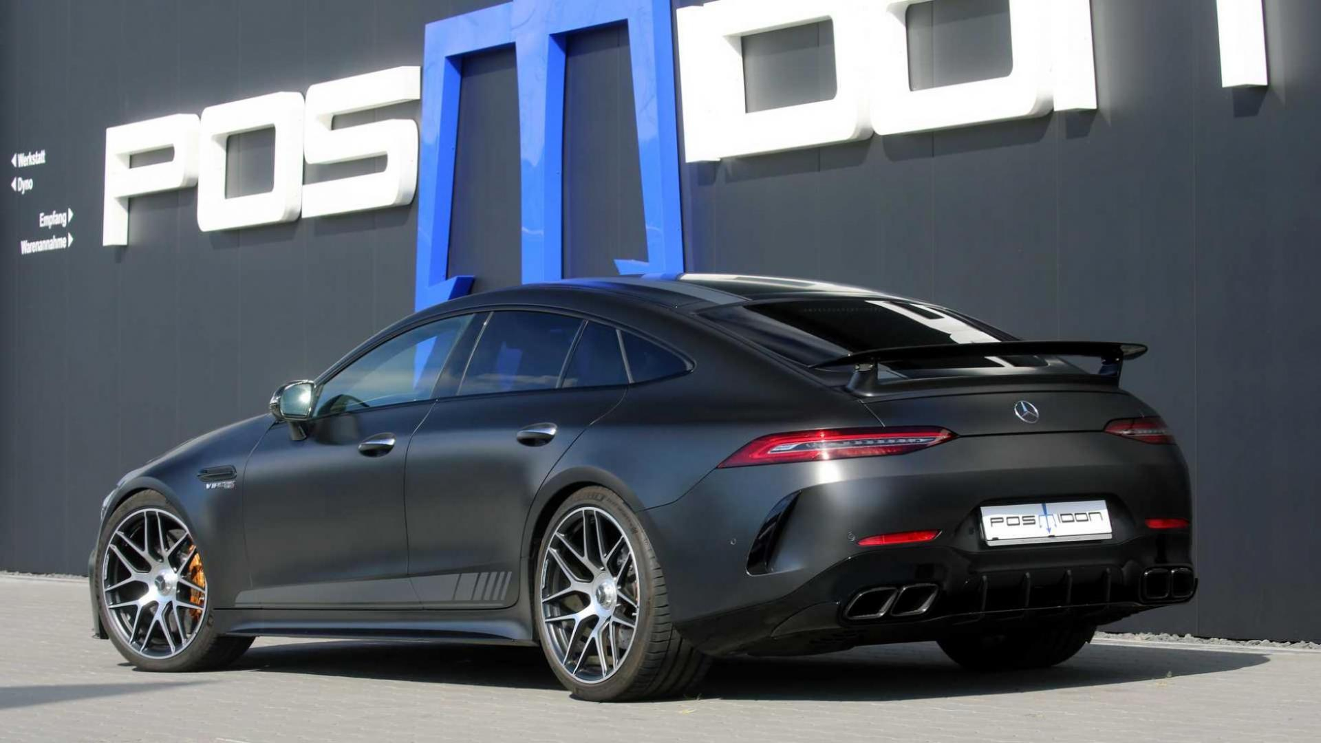 Mercedes AMG-GT Posaidon RS achter