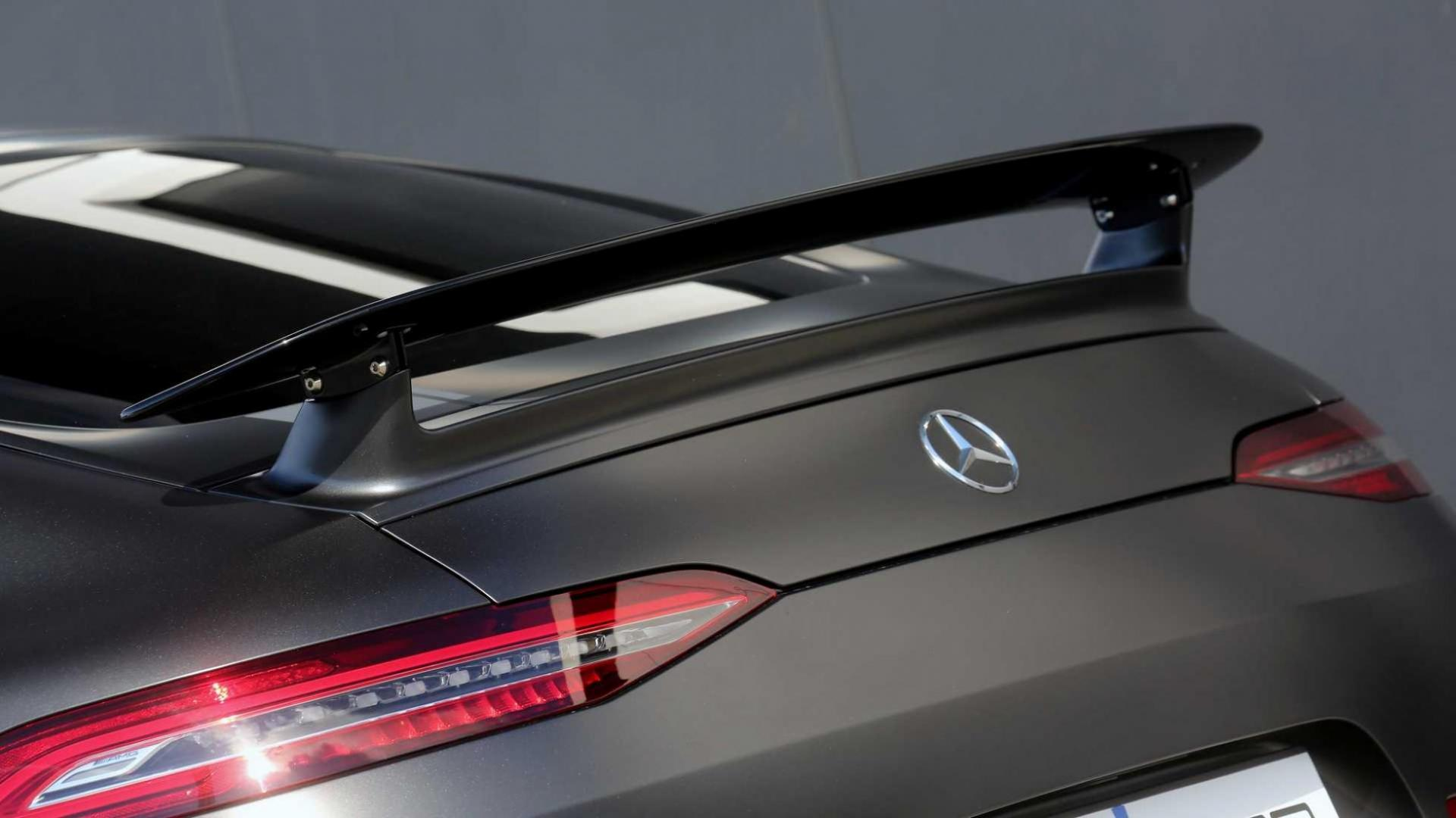 Mercedes AMG-GT Posaidon RS spoiler