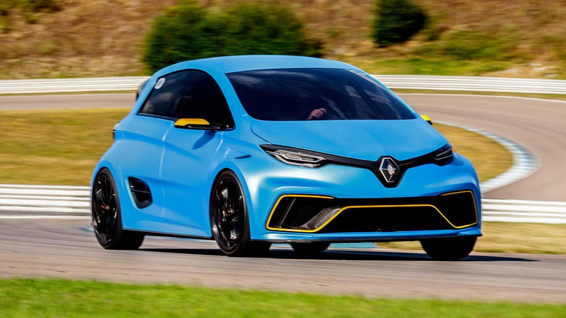 De Renault Zoe e-Sport