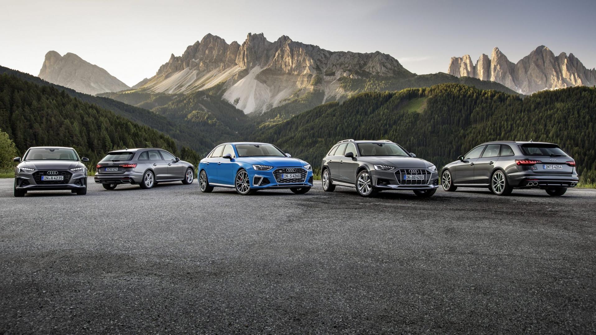 Audi A4 line-up