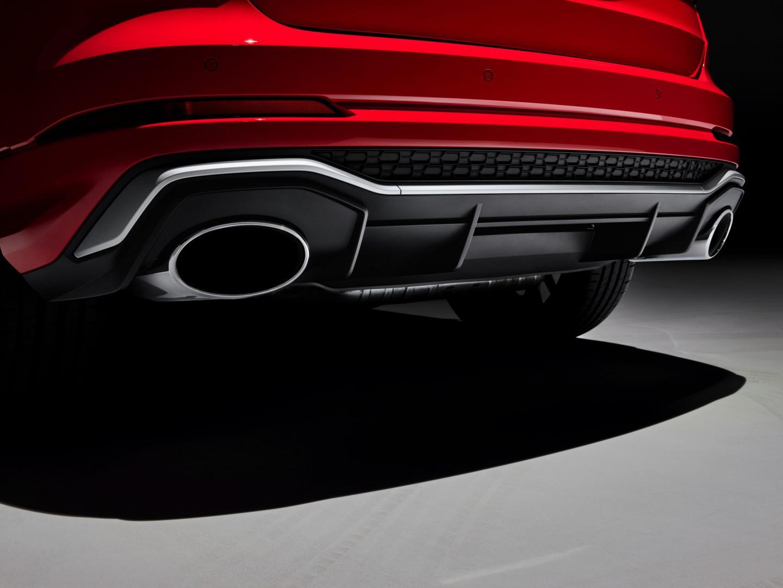 Audi RS Q3 uitlaat
