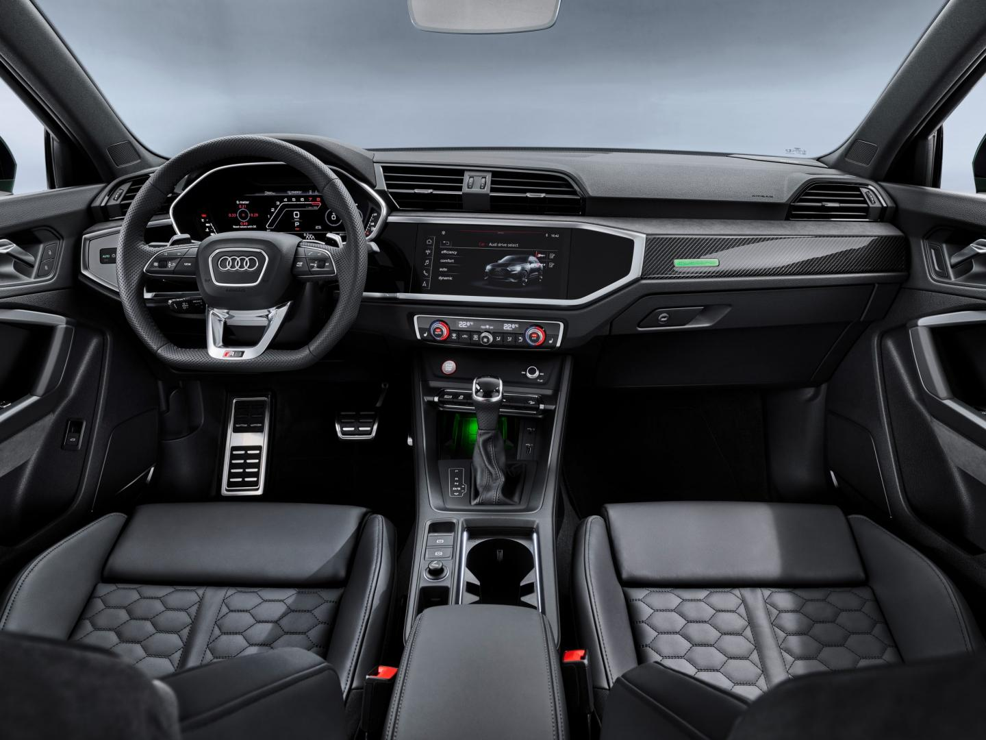 Audi RS Q3 Sportback Interieur dashboard
