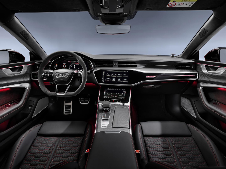 Audi RS 7 2019 dashboard interieur