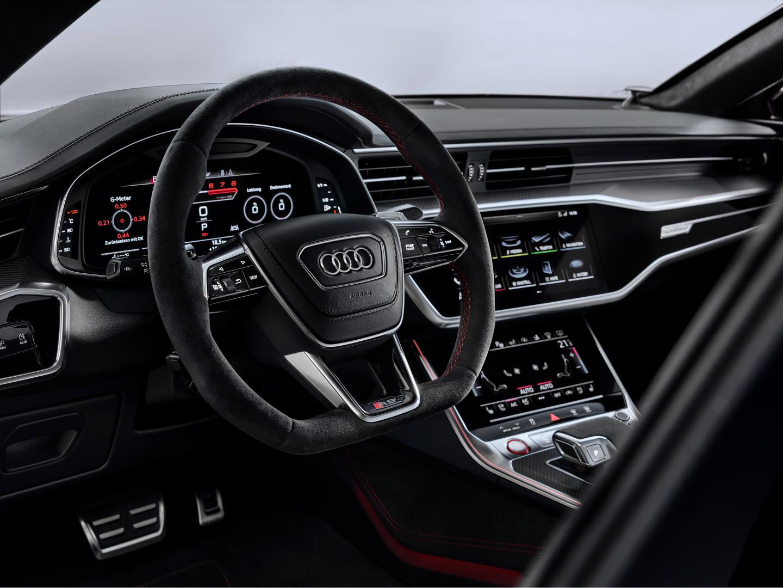 Audi RS 7 2019 interieur dashboard