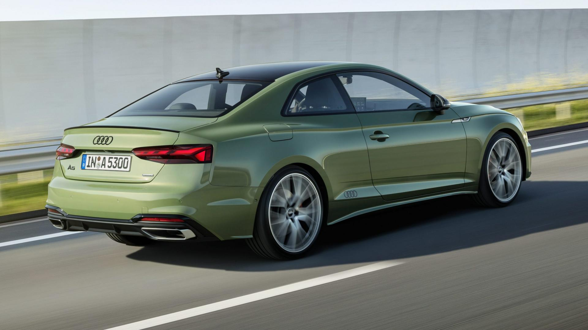 Audi A5-facelift District Green