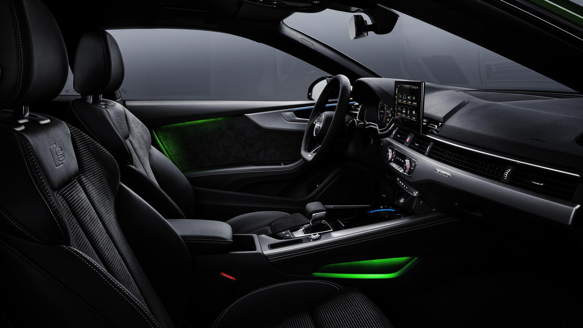 Audi A5-facelift s-line interieur