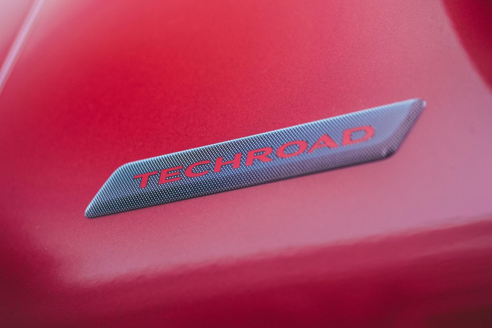 Dacia Sandero detail badge