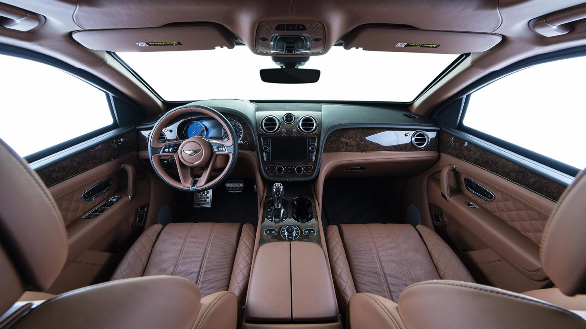 Gepantserde Bentley Bentayga dashboard
