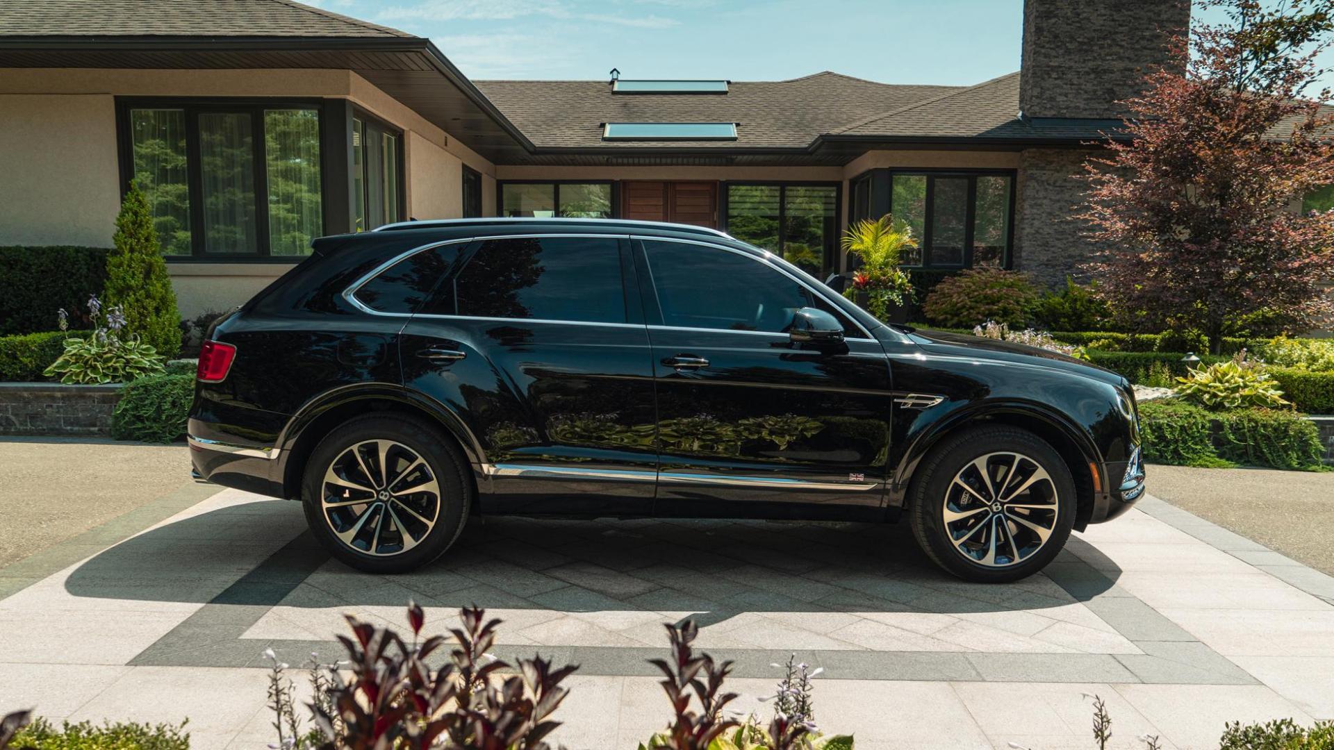 Gepantserde Bentley Bentayga