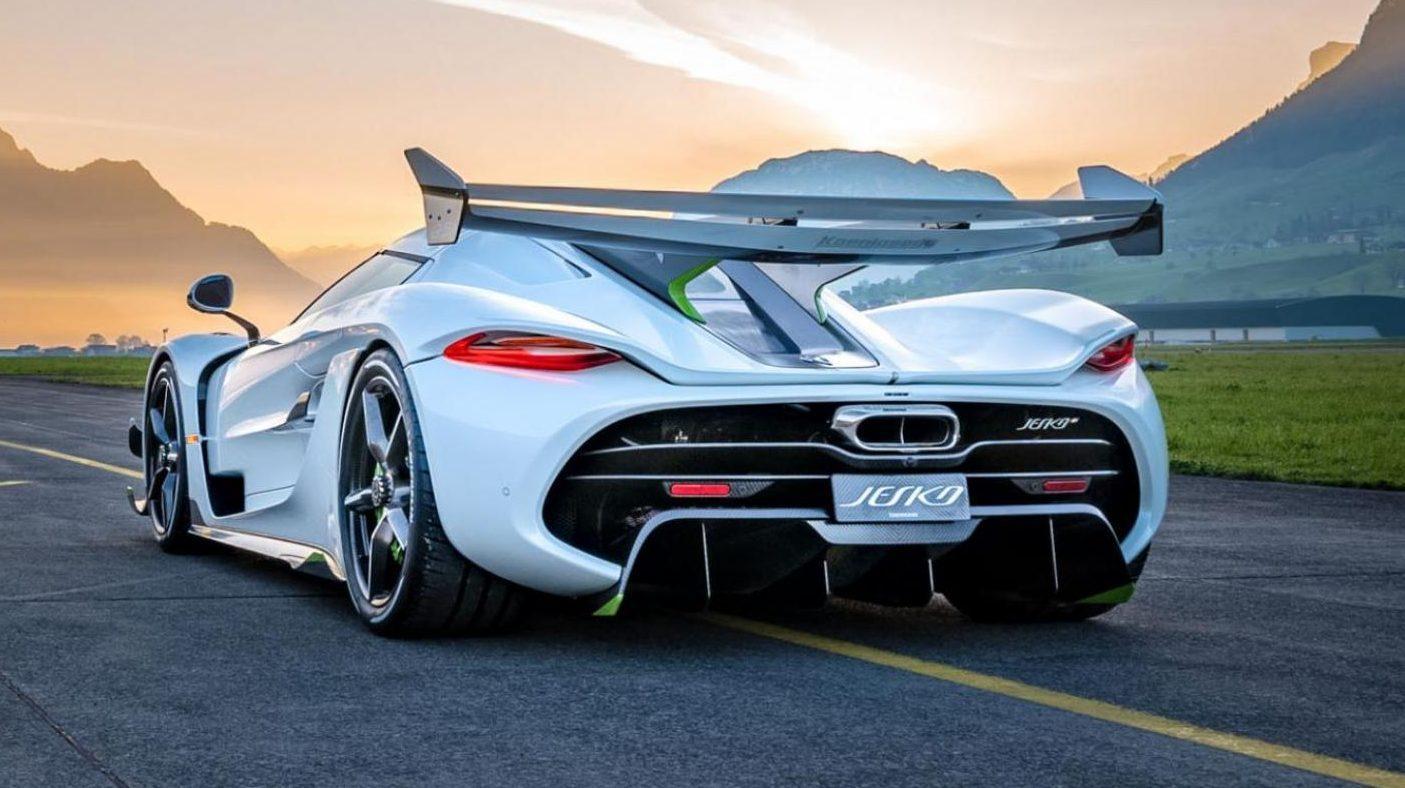 De Jesko van Koenigsegg