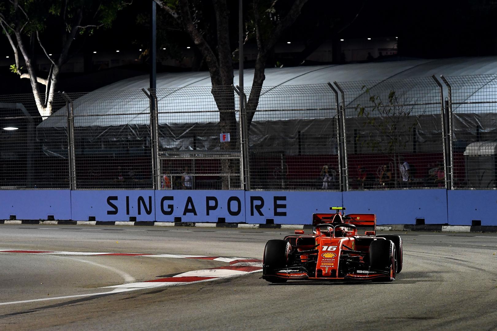 Kwalificatie van de GP van de Singapore 2019