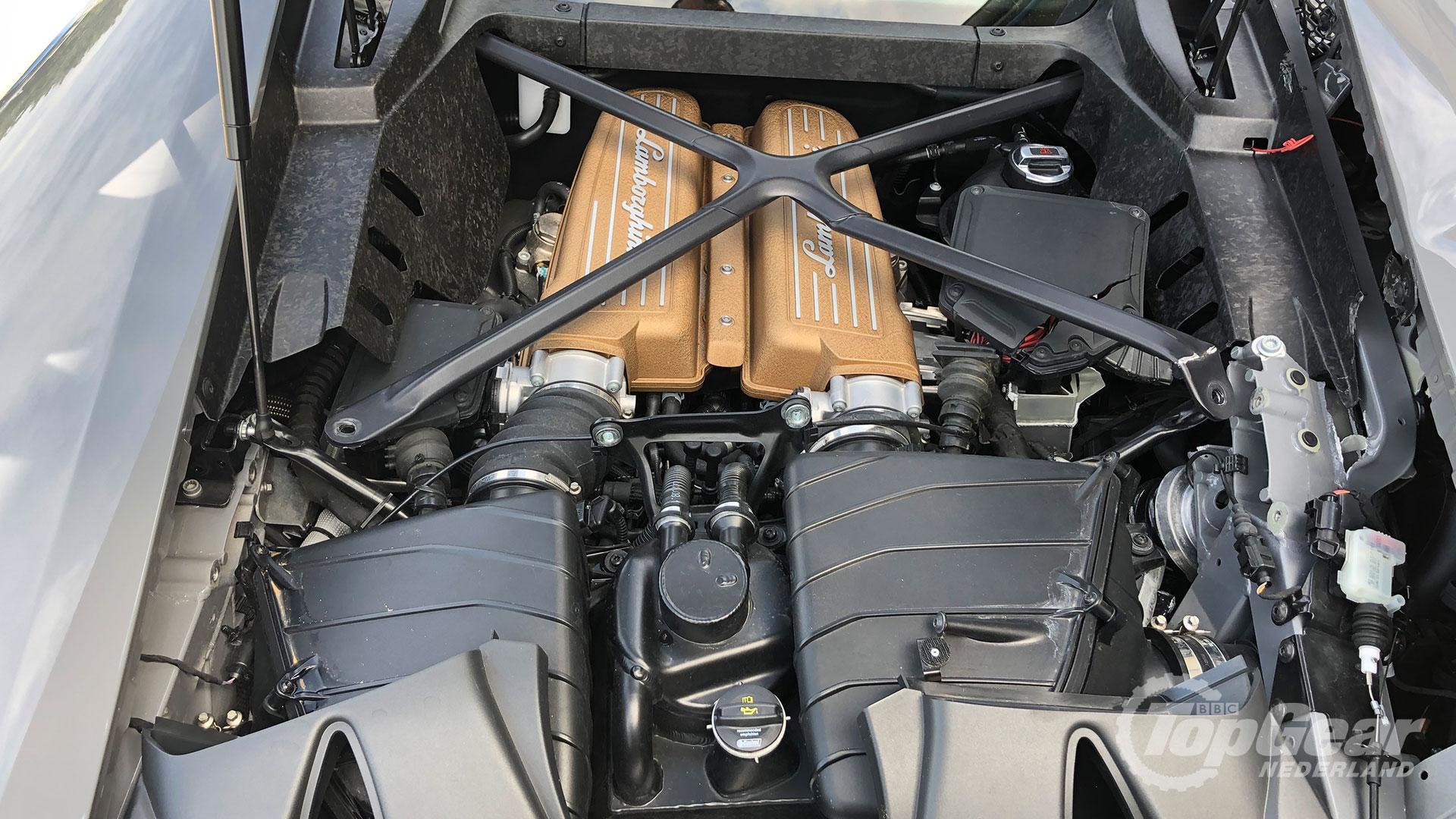 Lamborghini Huracan Performante Londen Crash
