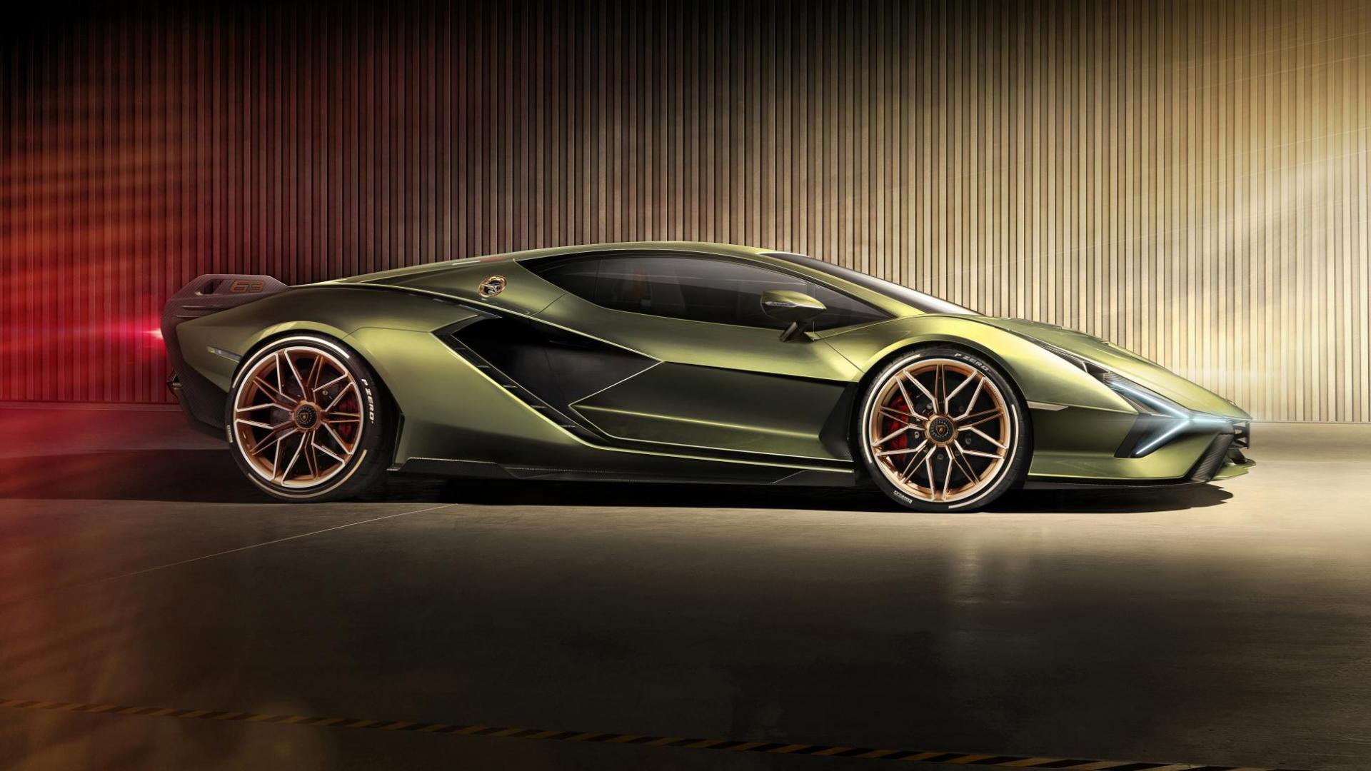 Lamborghini Sian zij