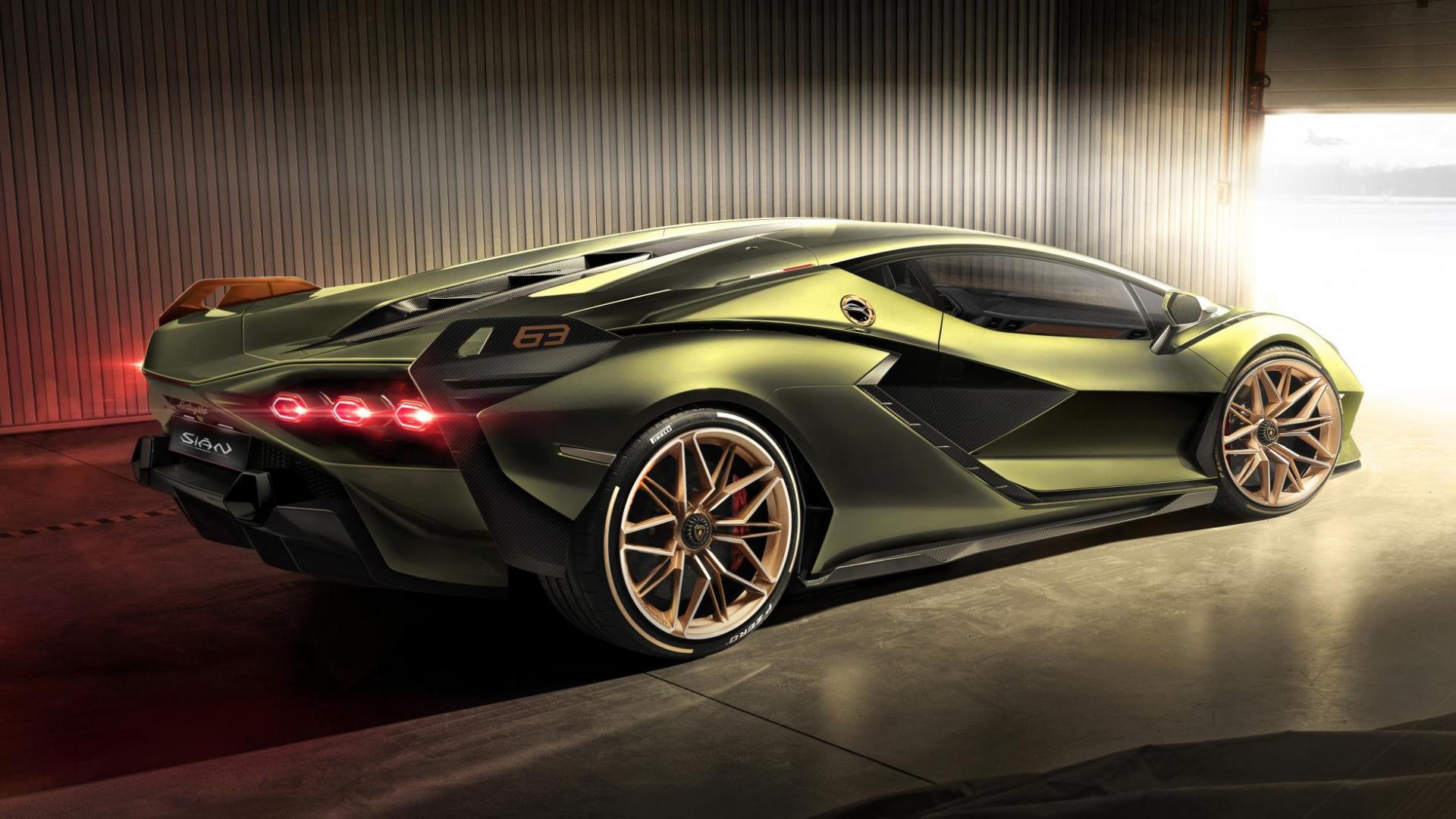 Lamborghini Sian zij 002