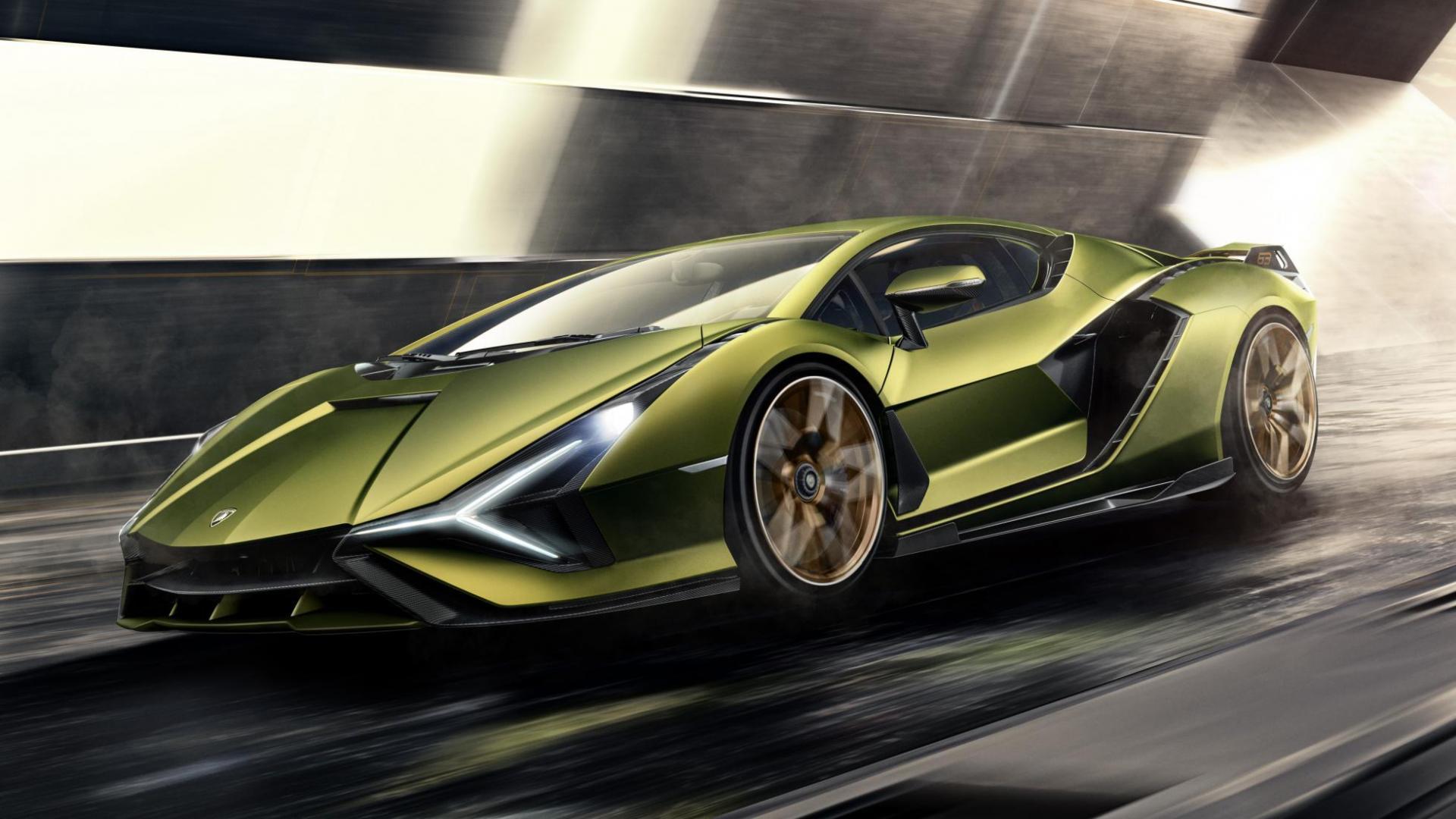 Lamborghini Sian zij 004