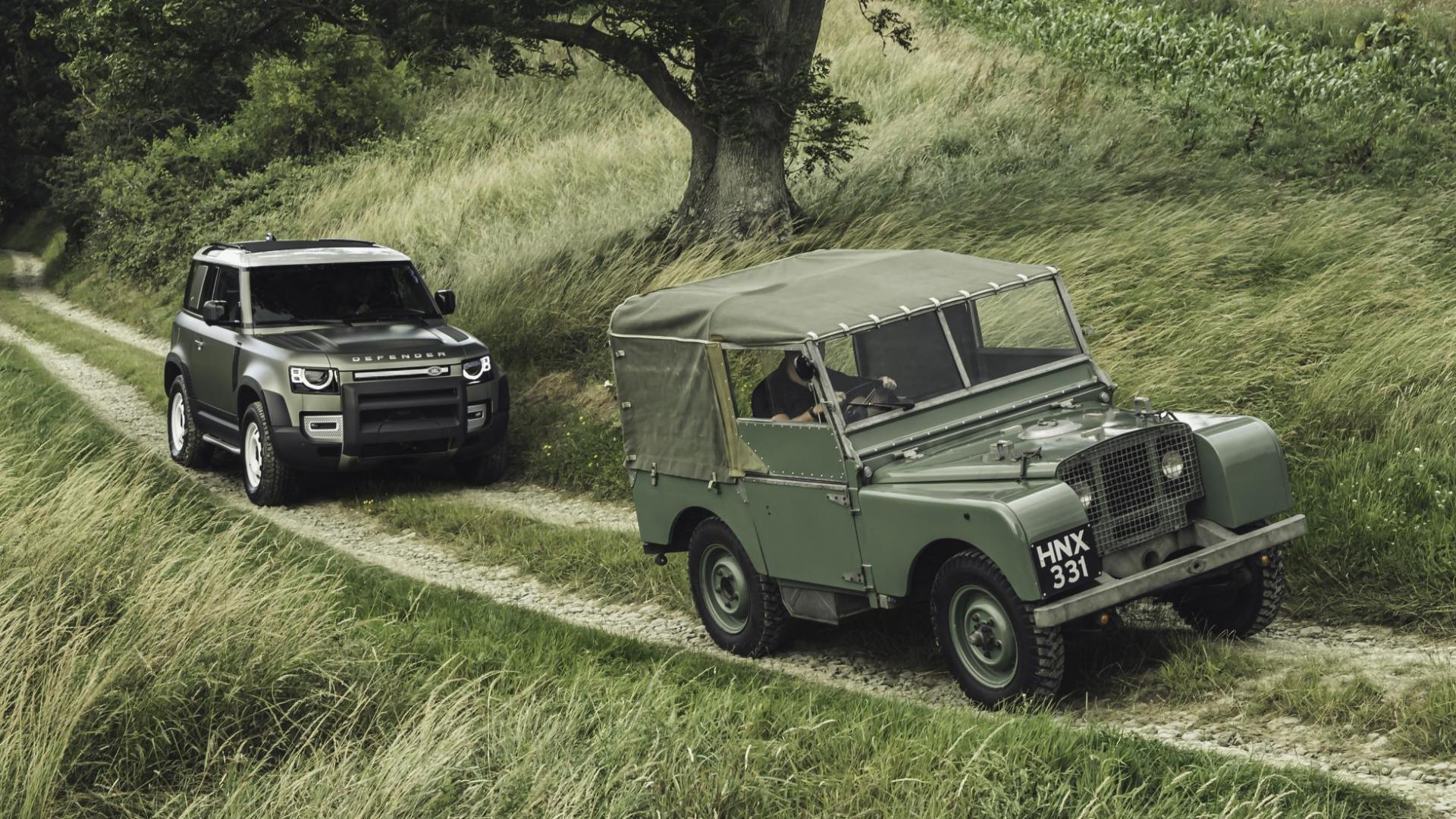 Land Rover Defender 90 2019 vs oude