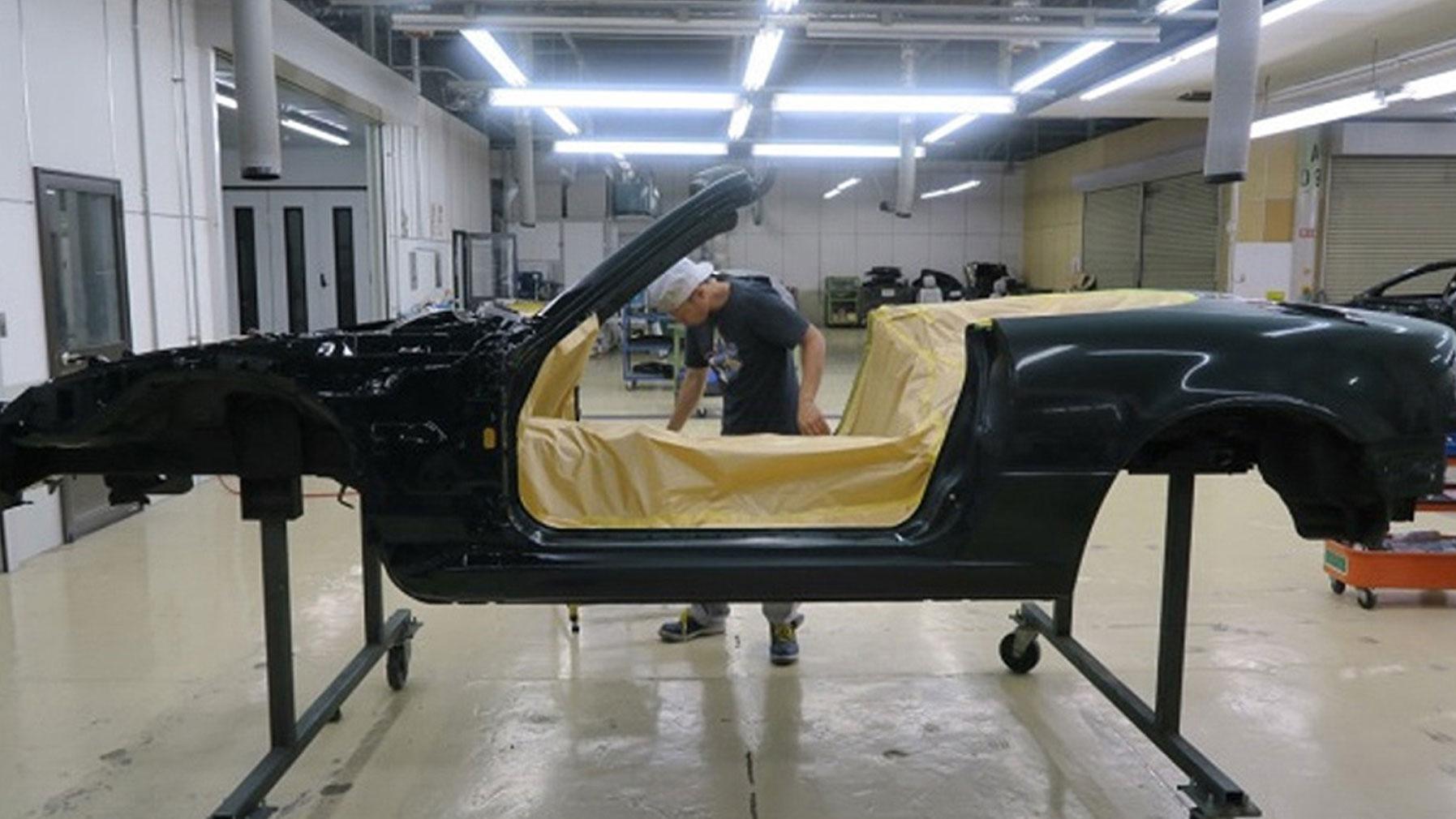 nieuwe Mazda MX-5 NA