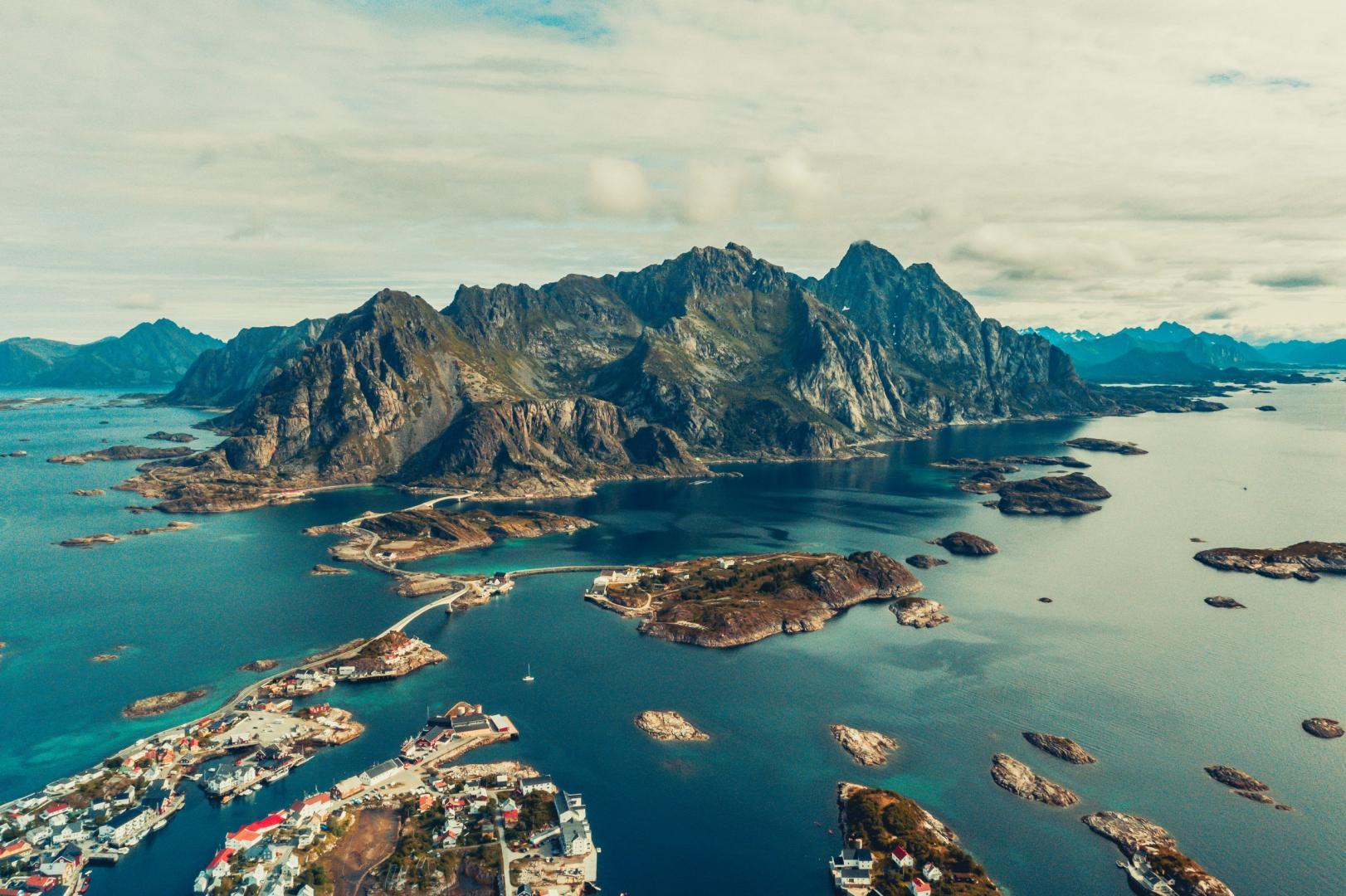 Polestar 1 landschap Noorwegen