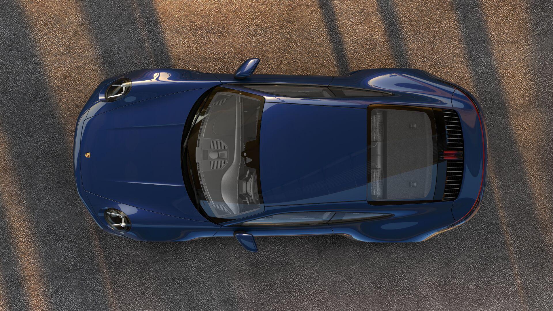 Porsche 911 in Bad Boys for Life configurator