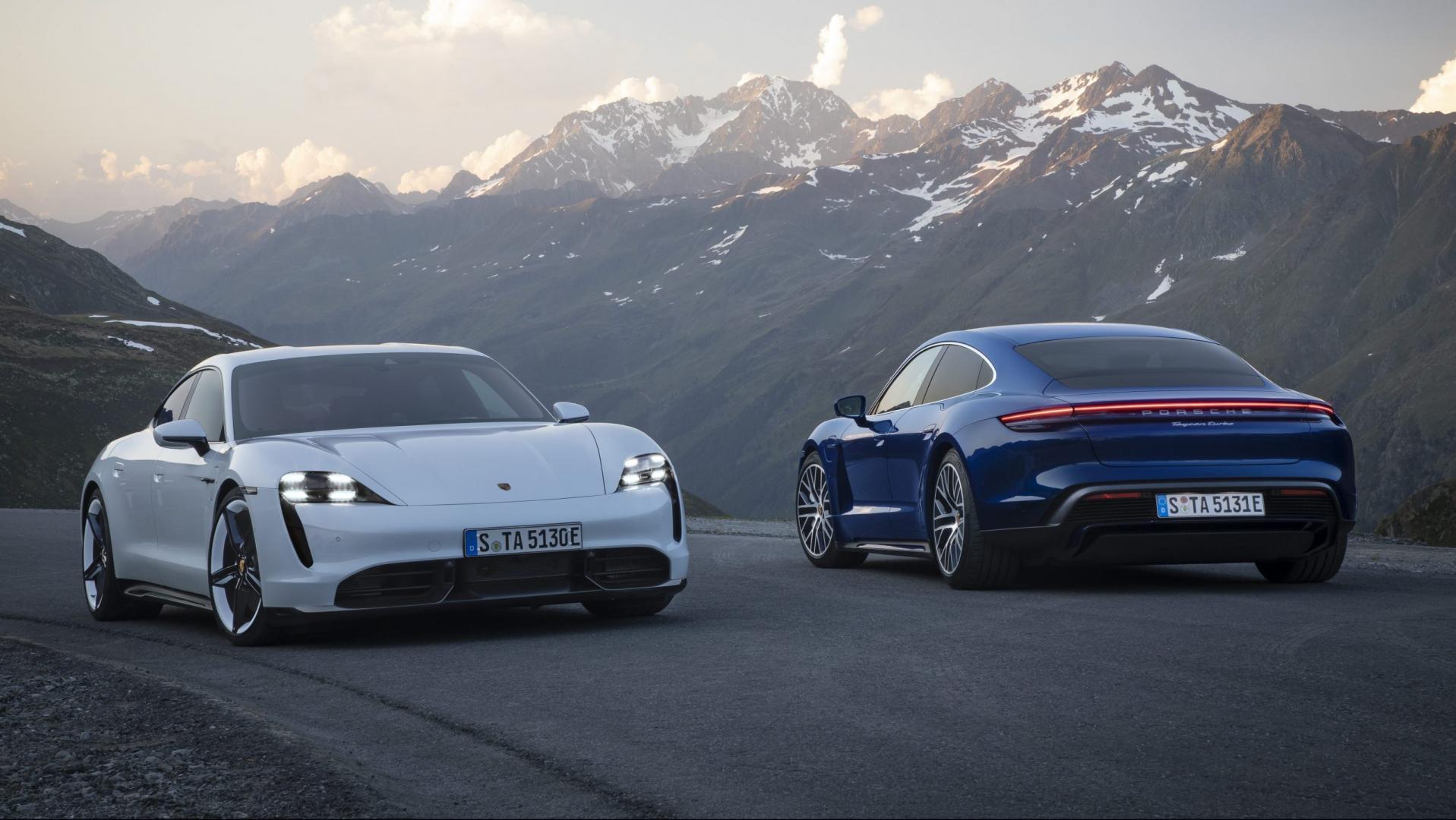 Porsche Taycan Turbo en Turbo S 2019