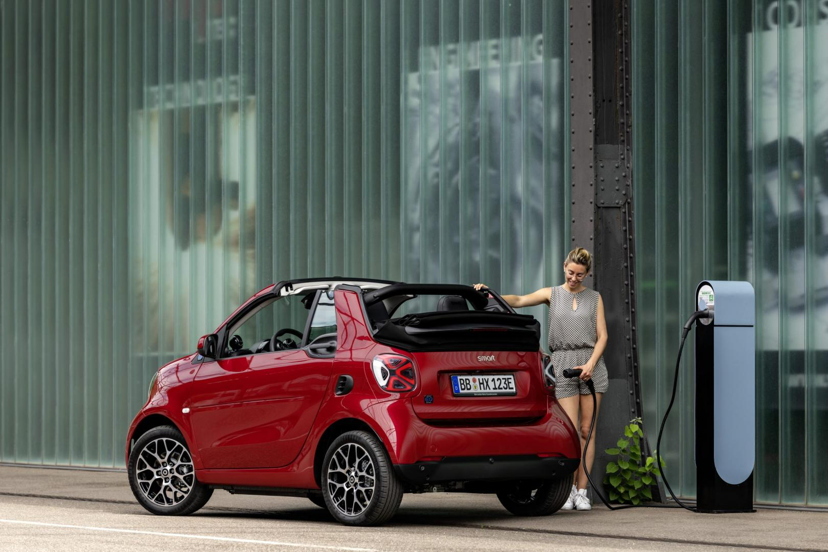 Smart Fortwo Cabrio facelift 2019